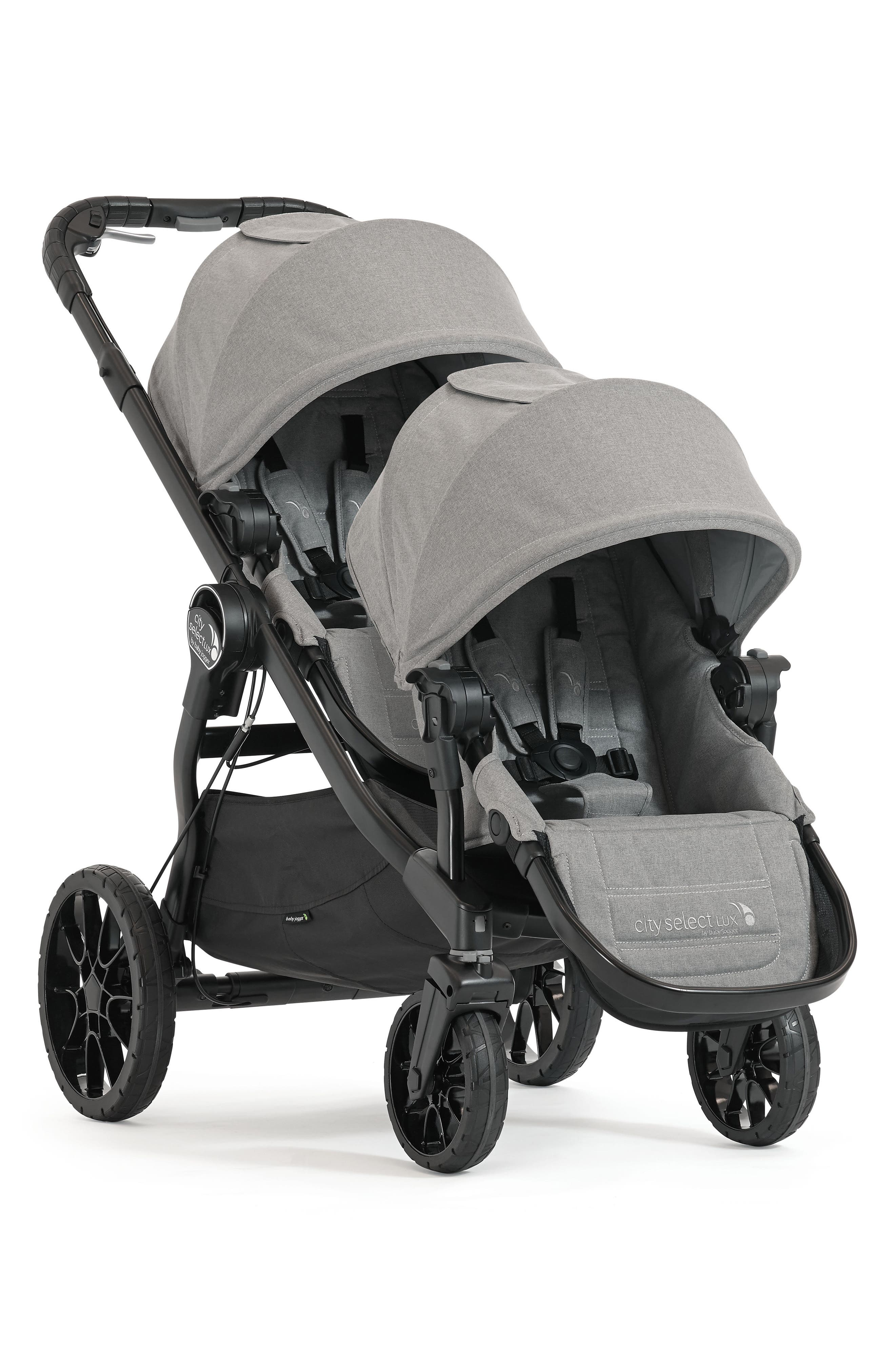 City Select<sup>®</sup> LUX Stroller with Second Seat,                         Main,                         color, Slate