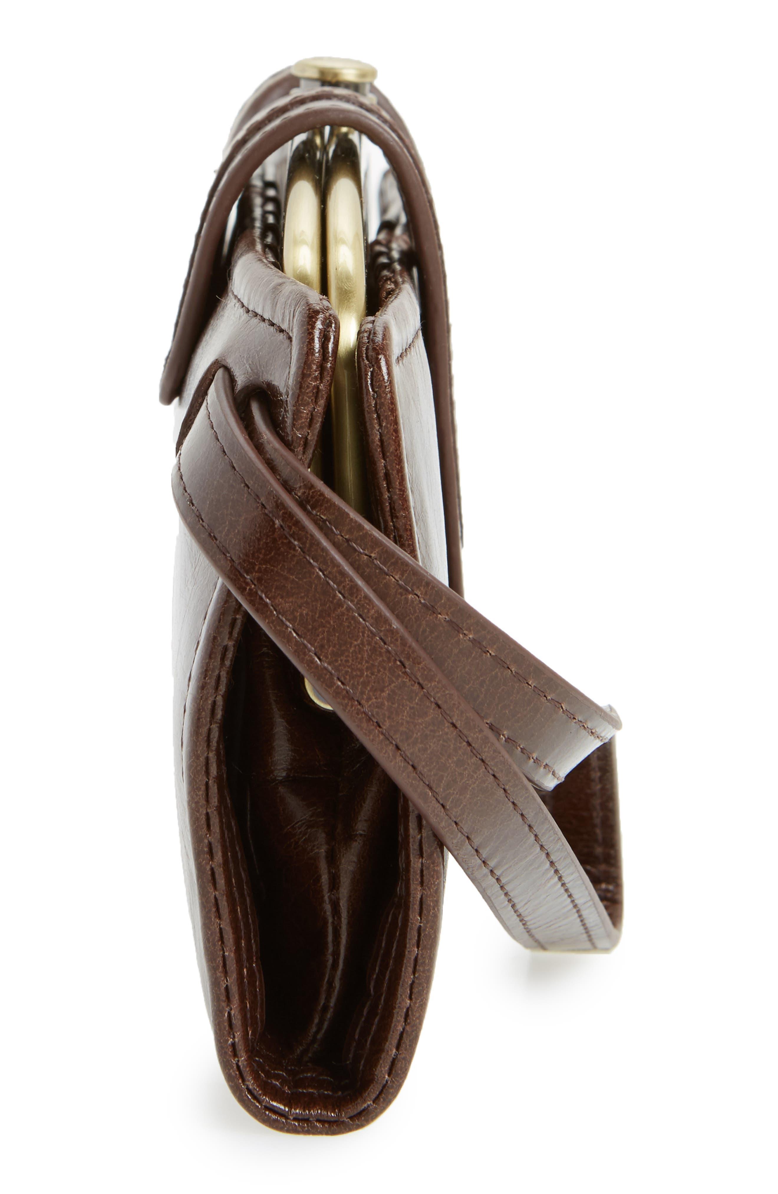 Alternate Image 4  - Hobo Nova Calfskin Leather Wallet