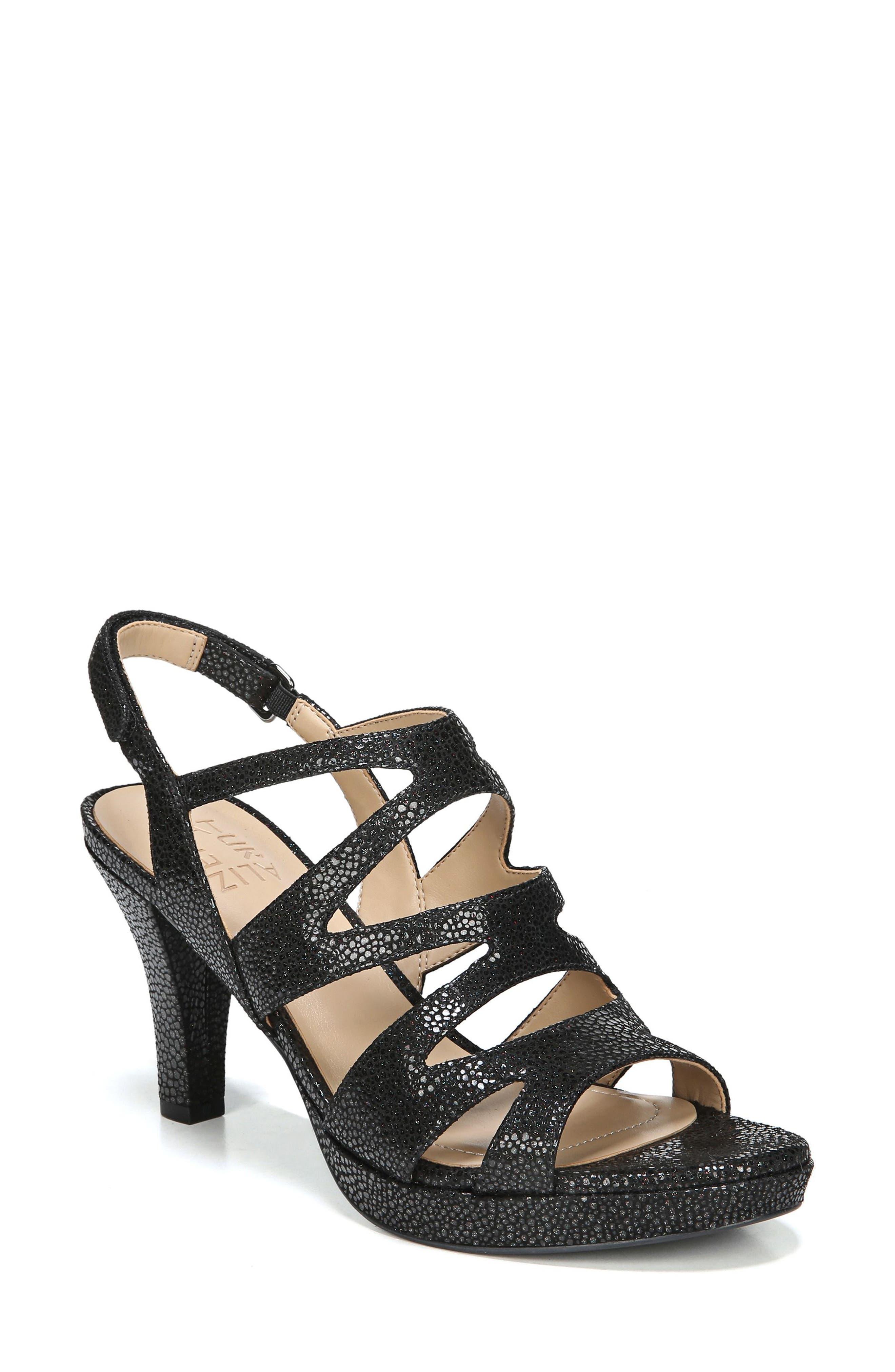 Main Image - Naturalizer 'Pressley' Slingback Platform Sandal (Women)