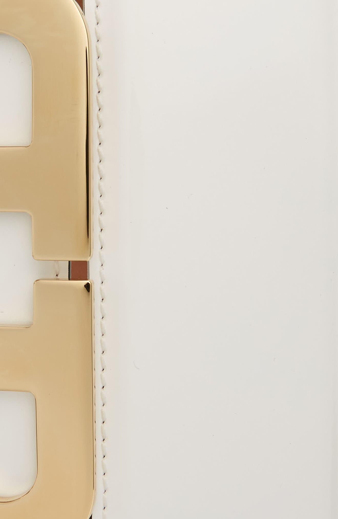 Alternate Image 2  - Bally Mirror Buckle Leather Belt