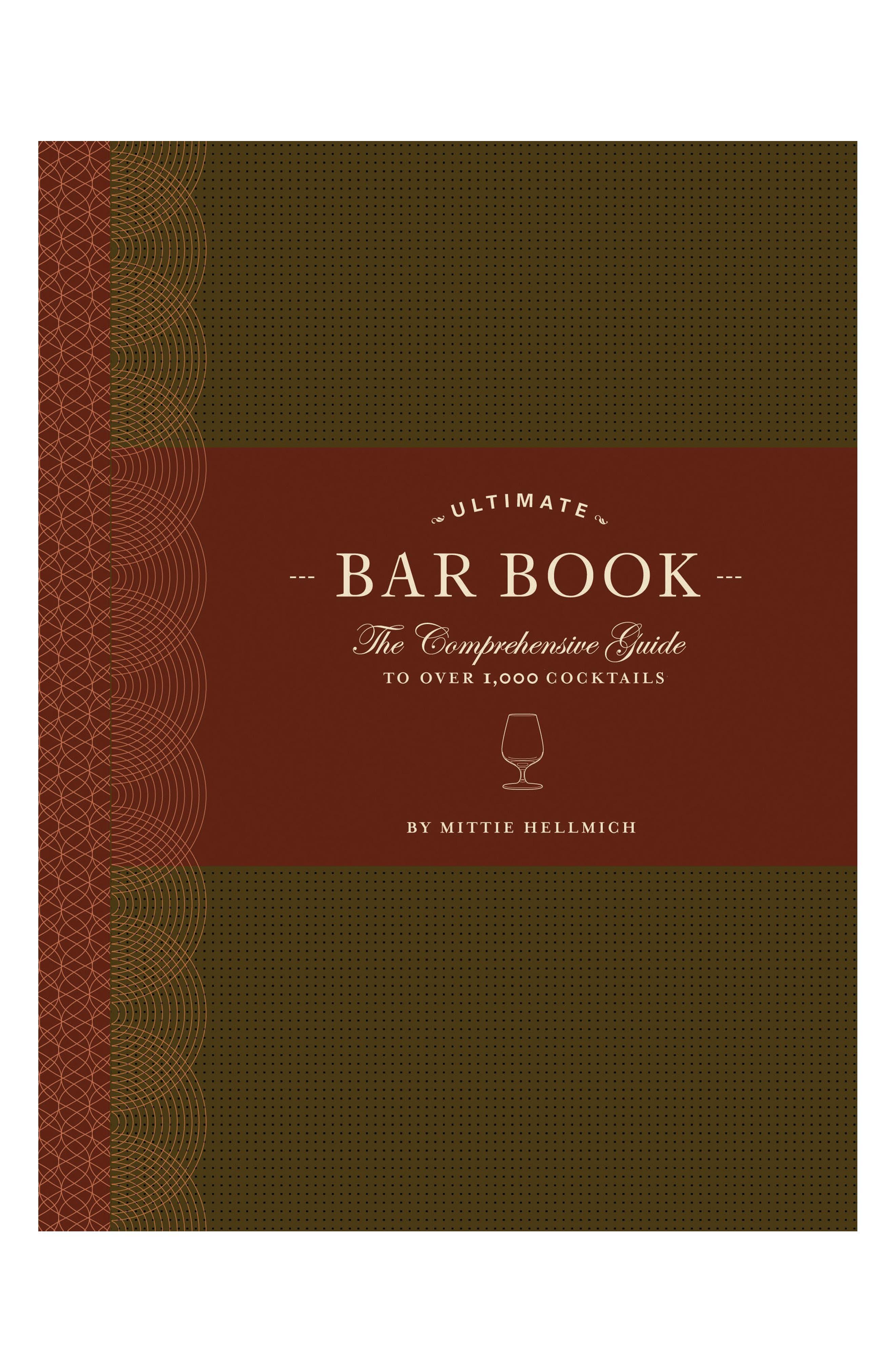 Ultimate Bar Book,                             Main thumbnail 1, color,                             Red