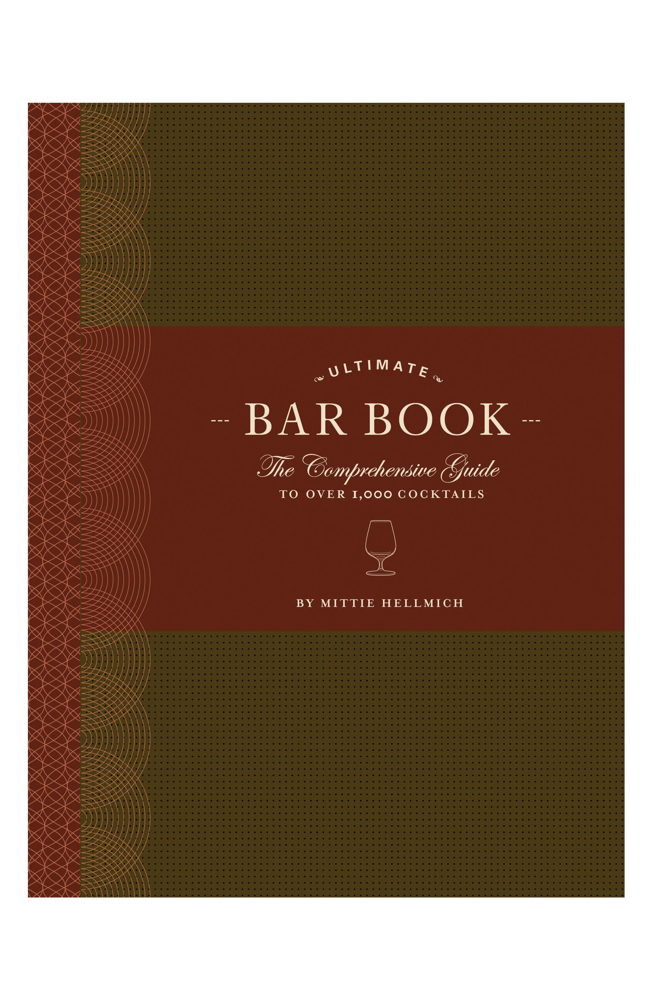 Ultimate Bar Book,                         Main,                         color, Red