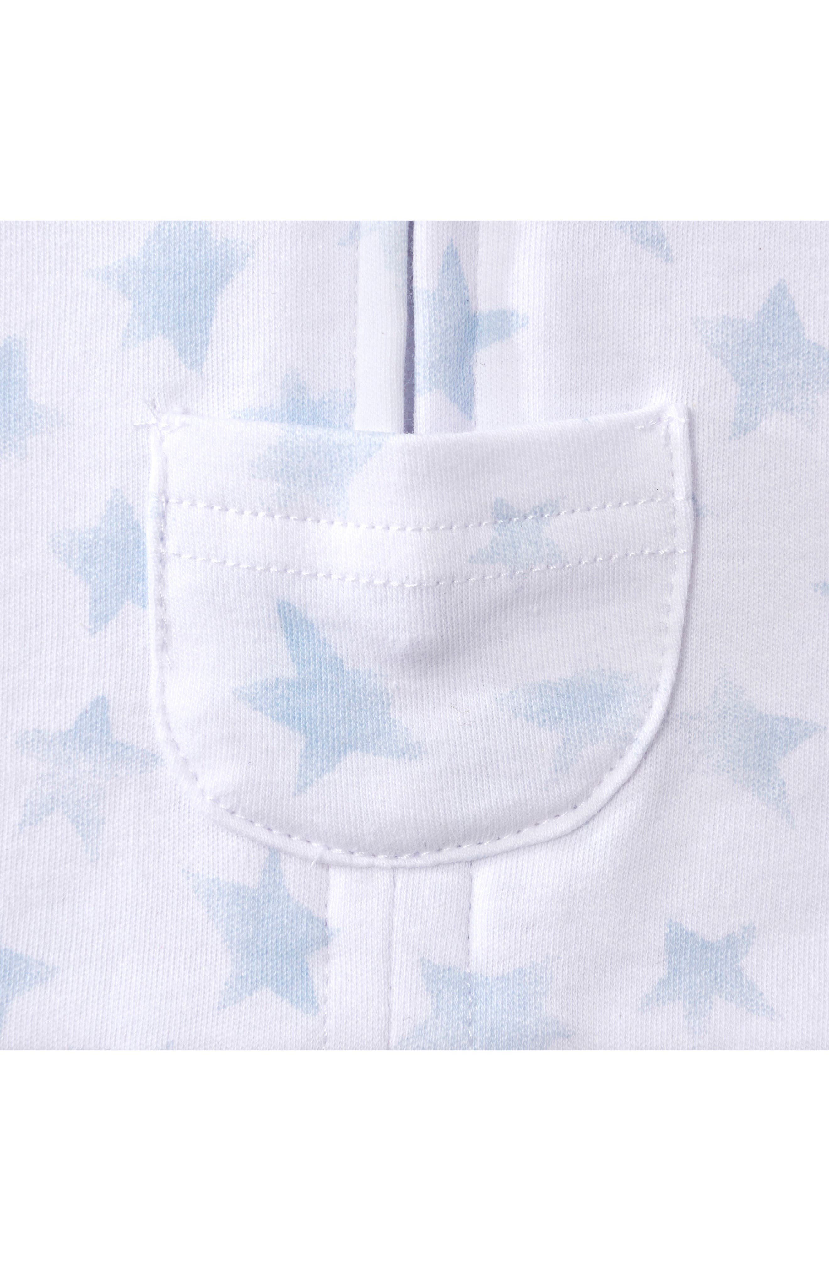 Platinum Series SleepSack<sup>™</sup> Swaddle,                             Alternate thumbnail 4, color,                             Pale Blue Twinkle