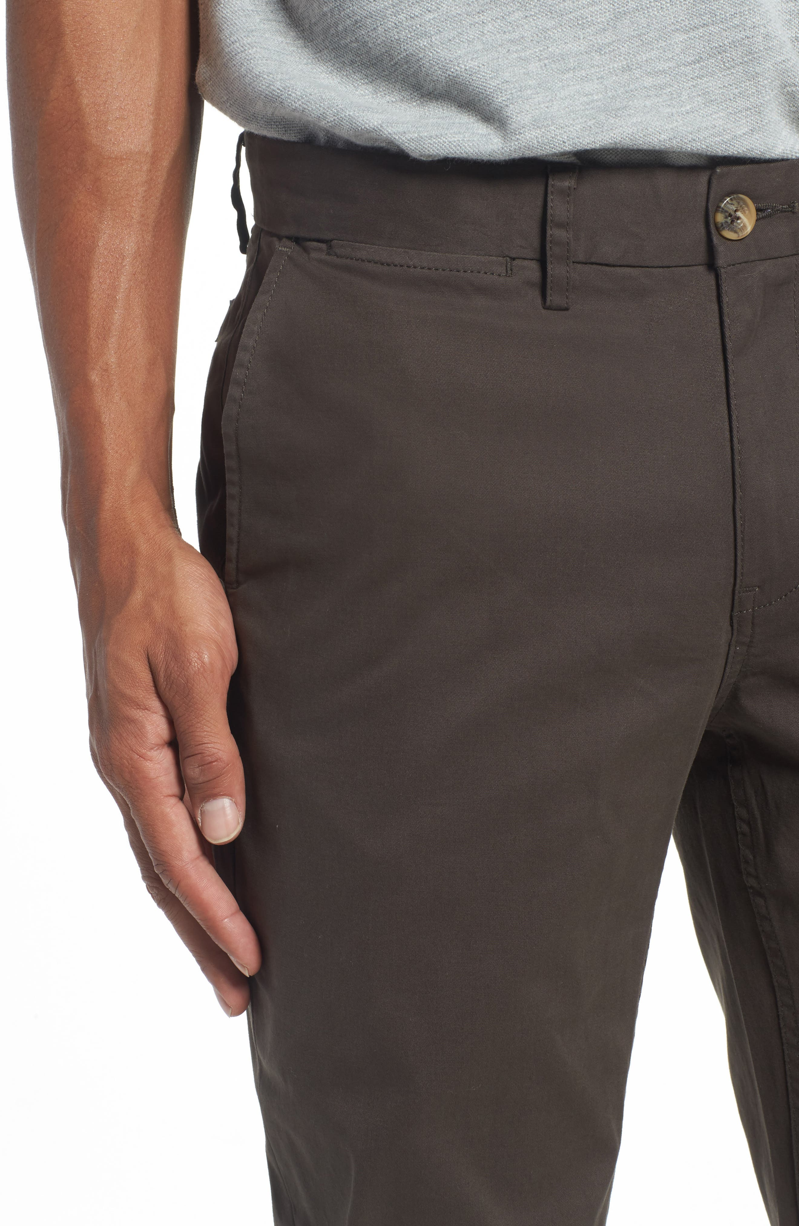Alternate Image 4  - Ben Sherman Slim Fit Stretch Chinos