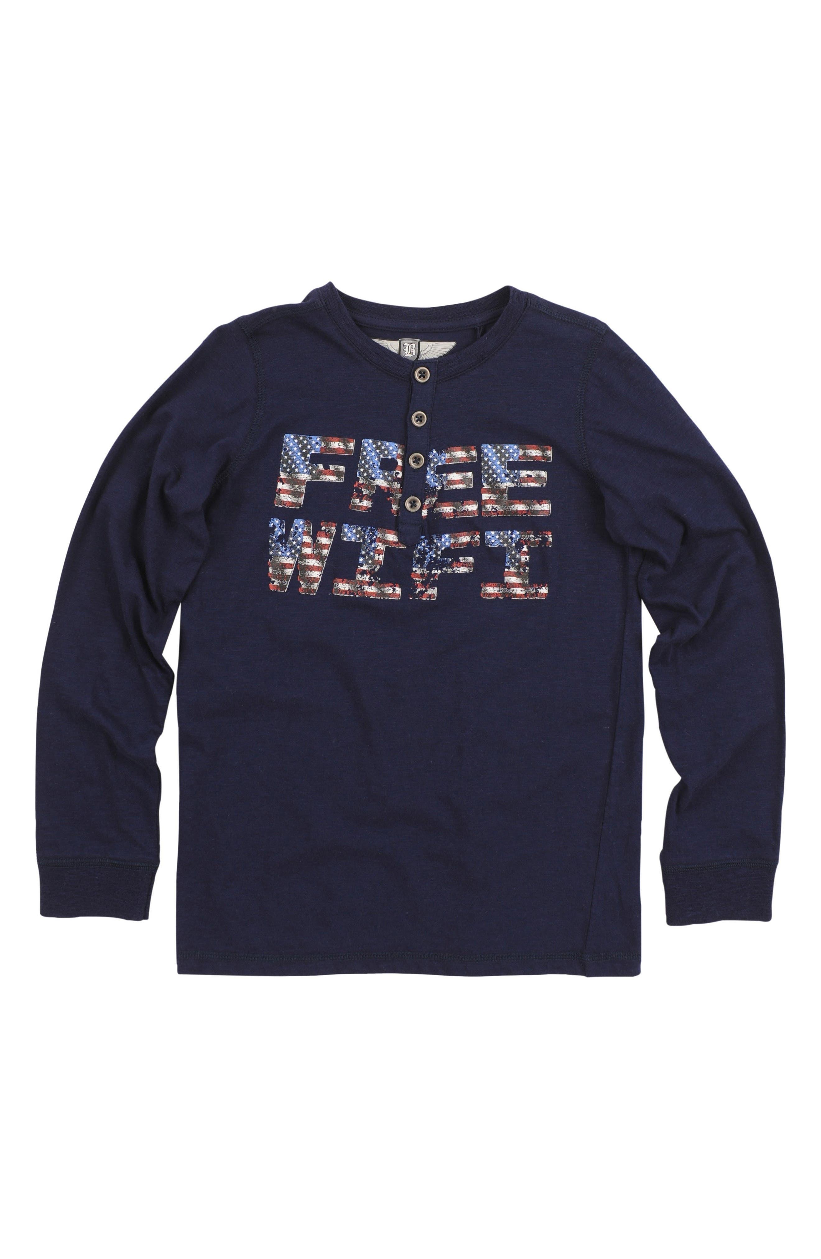 Main Image - Butter Henley T-Shirt (Little Boys)
