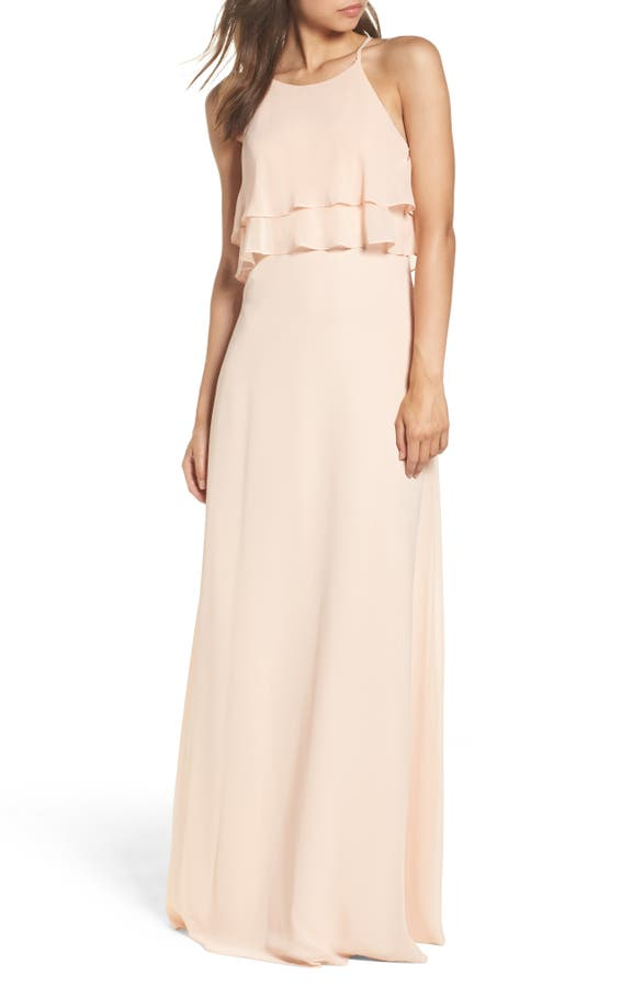 Jenny Yoo Charlie Ruffle Bodice Gown | Nordstrom