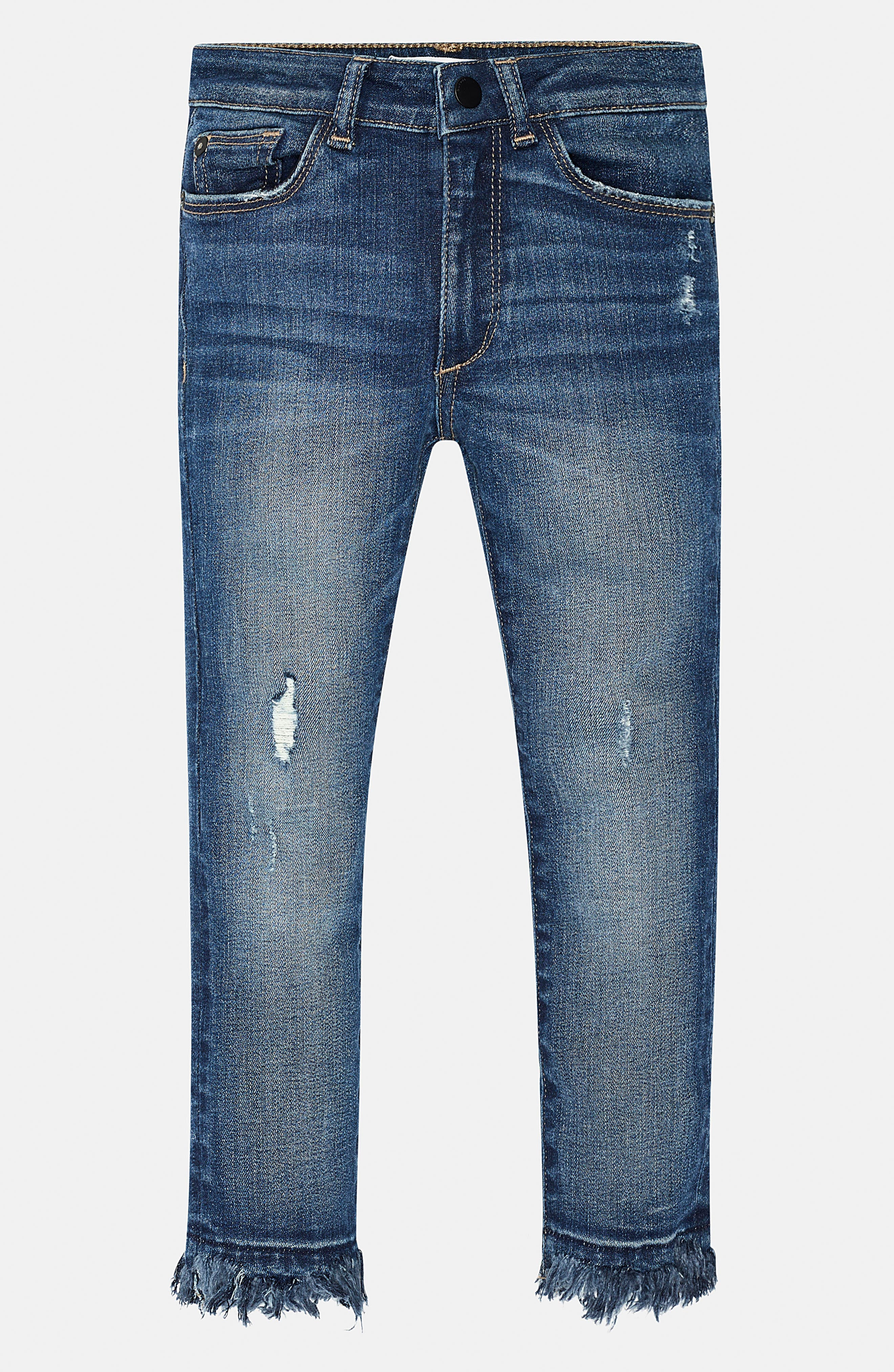 DL1961 Chloe Distressed Skinny Jeans (Toddler Girls & Little Girls)