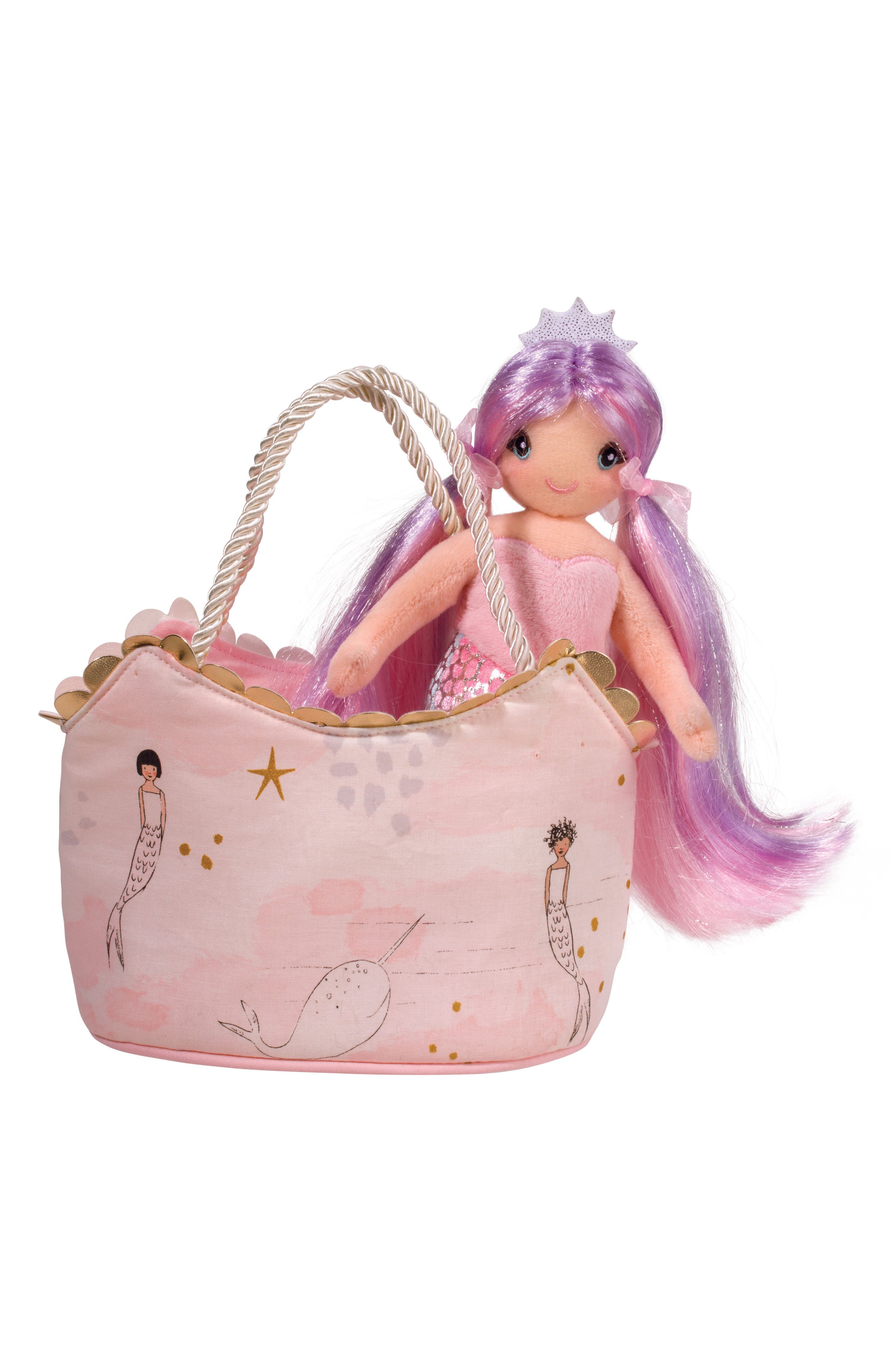 Douglas Mermaid Princess & Handbag