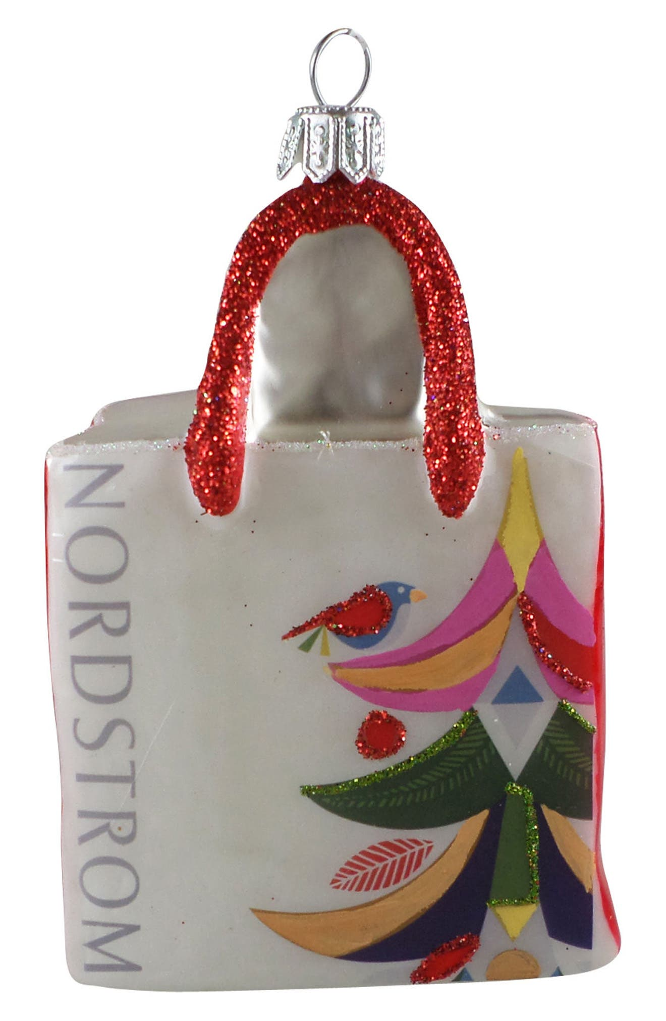 Alternate Image 1 Selected - Nordstrom at Home Nordstrom Shopping Bag 2017 Ornament