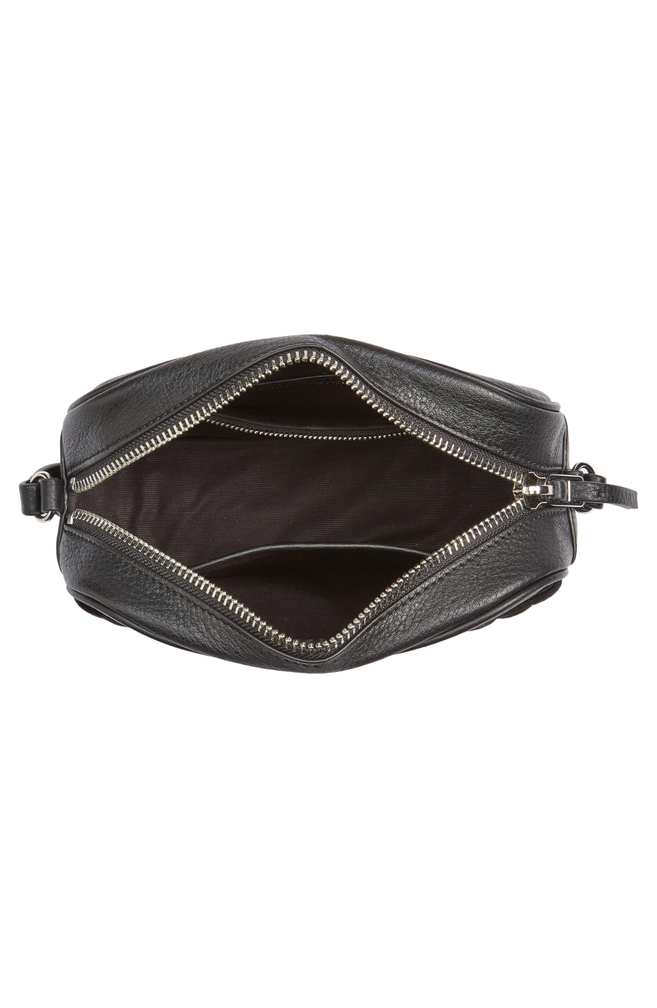 Alternate Image 4  - Steven Alan Ayla Leather & Quilted Suede Camera Bag