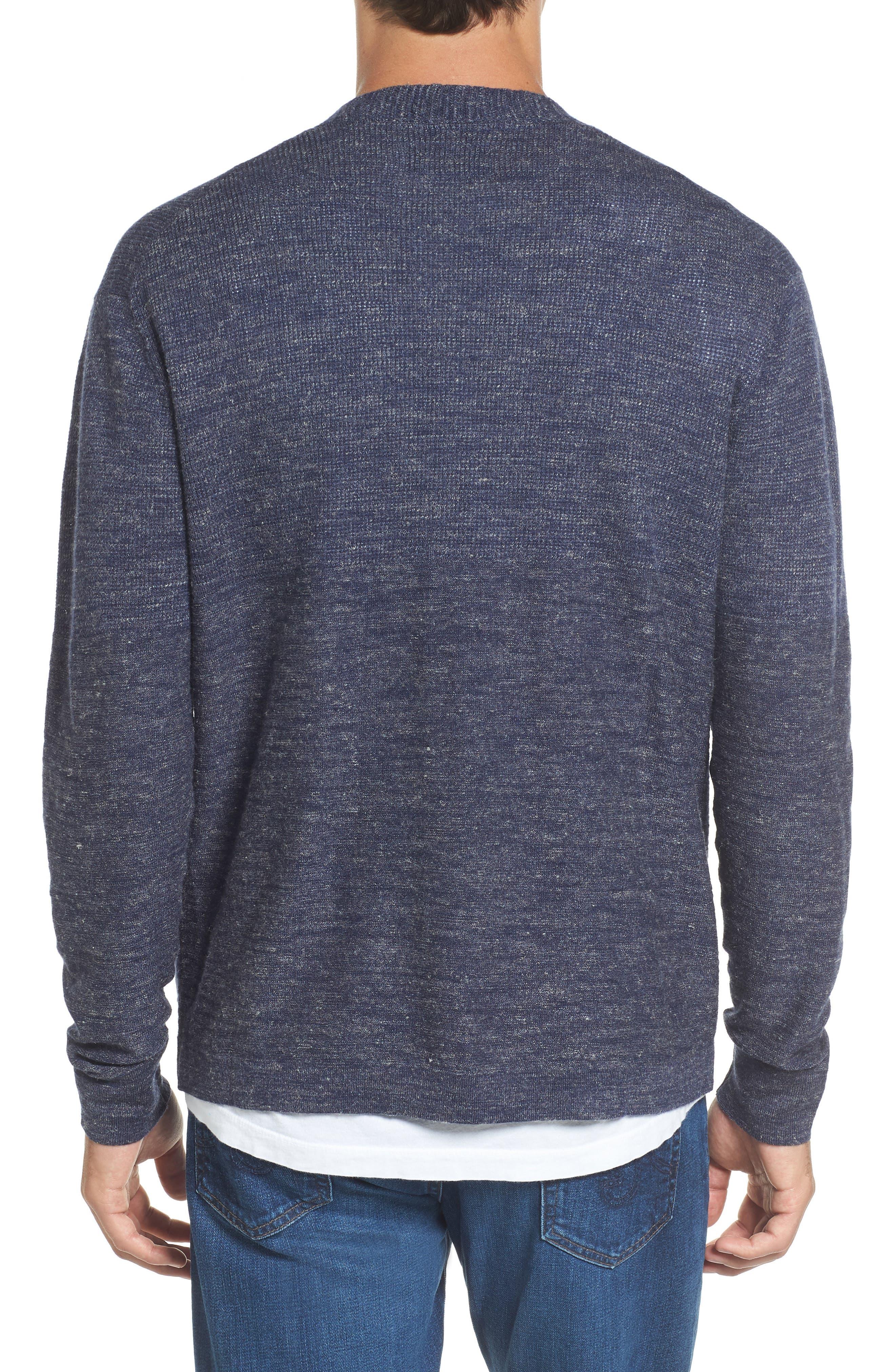 Alternate Image 2  - Grayers Wadsworth Modern Fit Wool & Linen Cardigan