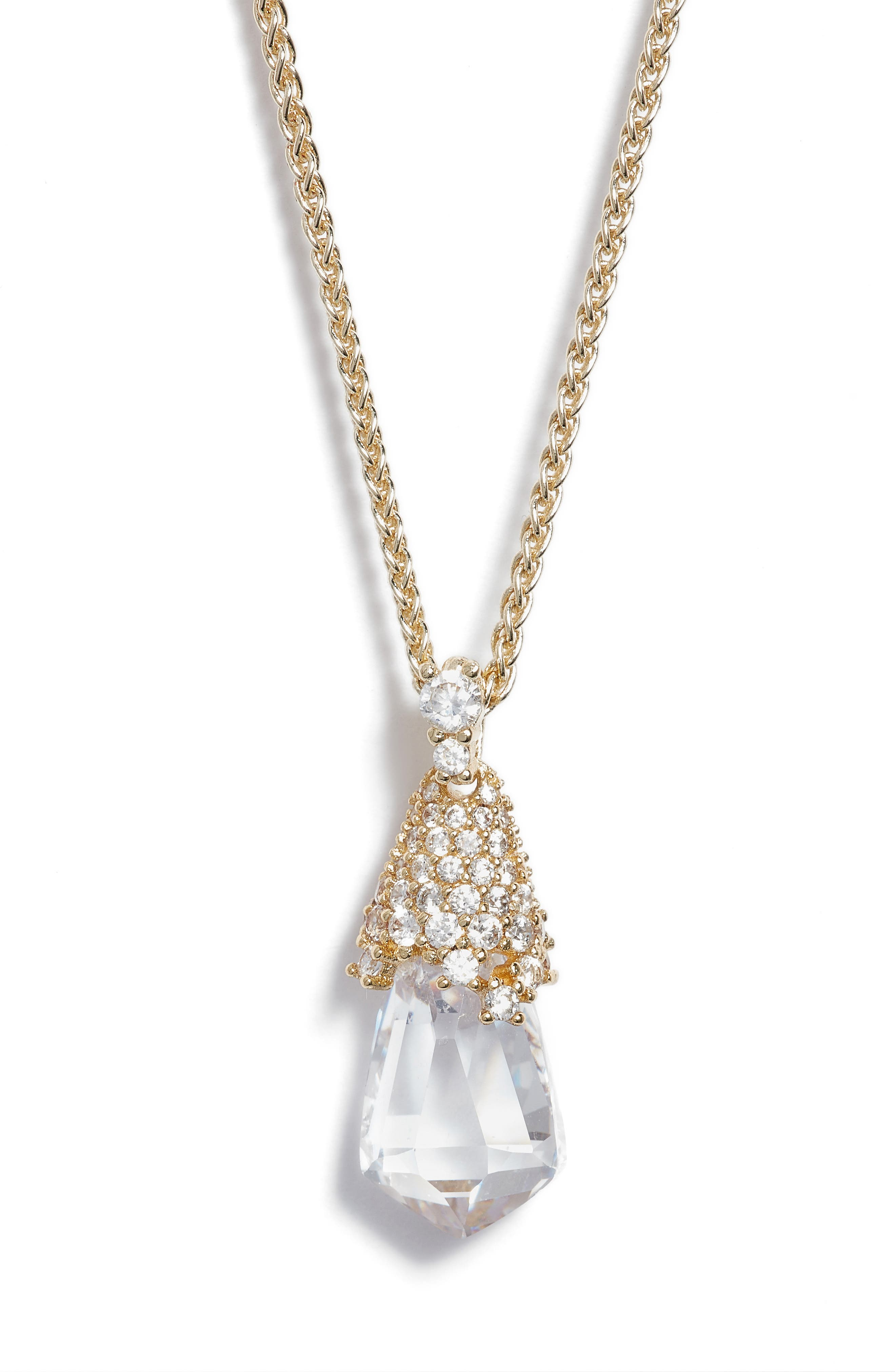 Alternate Image 2  - Kendra Scott Ella Convertible Teardrop Pendant Necklace