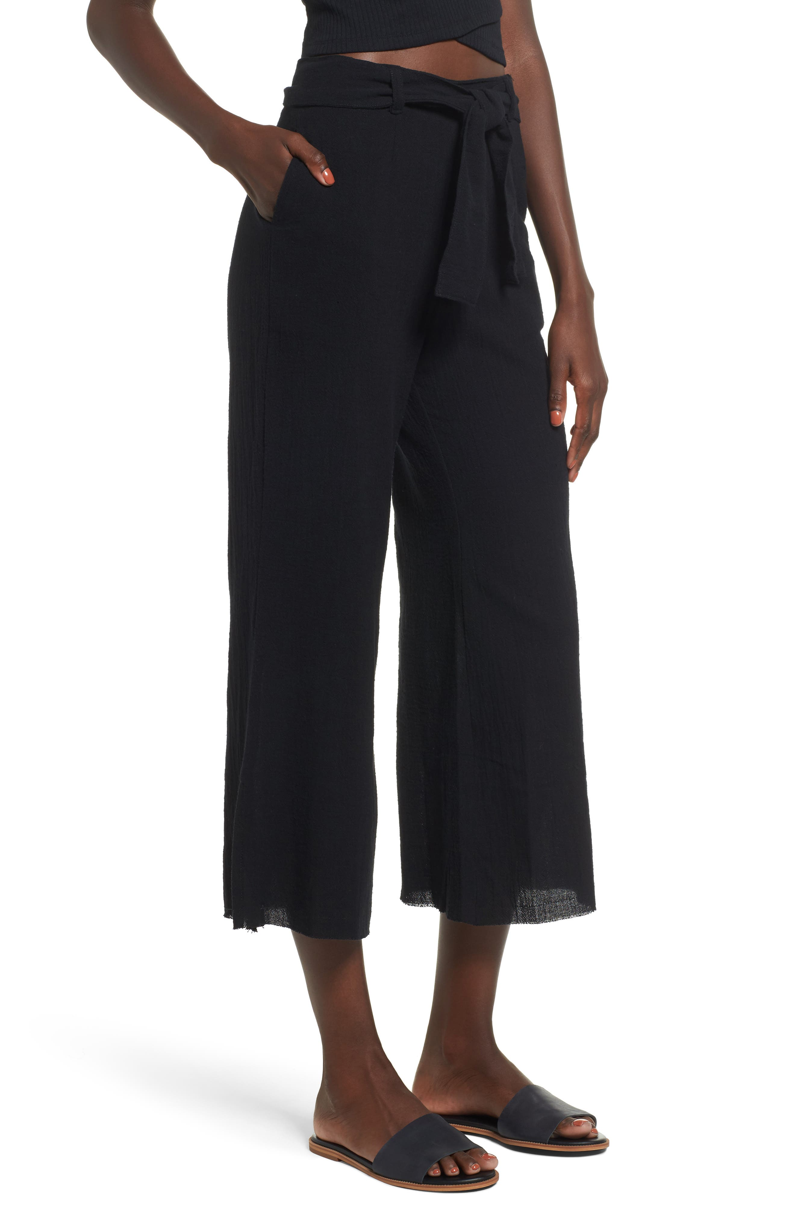 FAITHFULL THE BRAND Carmen Wide Leg Pants