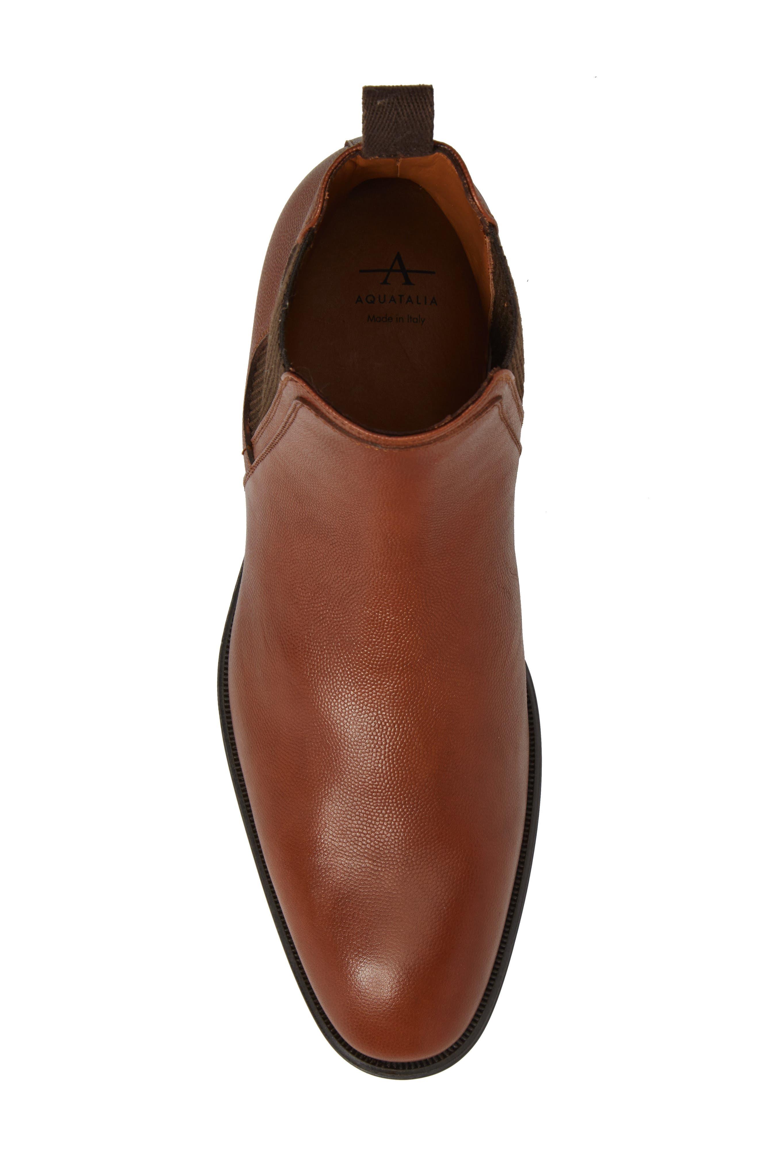Damon Chelsea Boot,                             Alternate thumbnail 5, color,                             Cognac