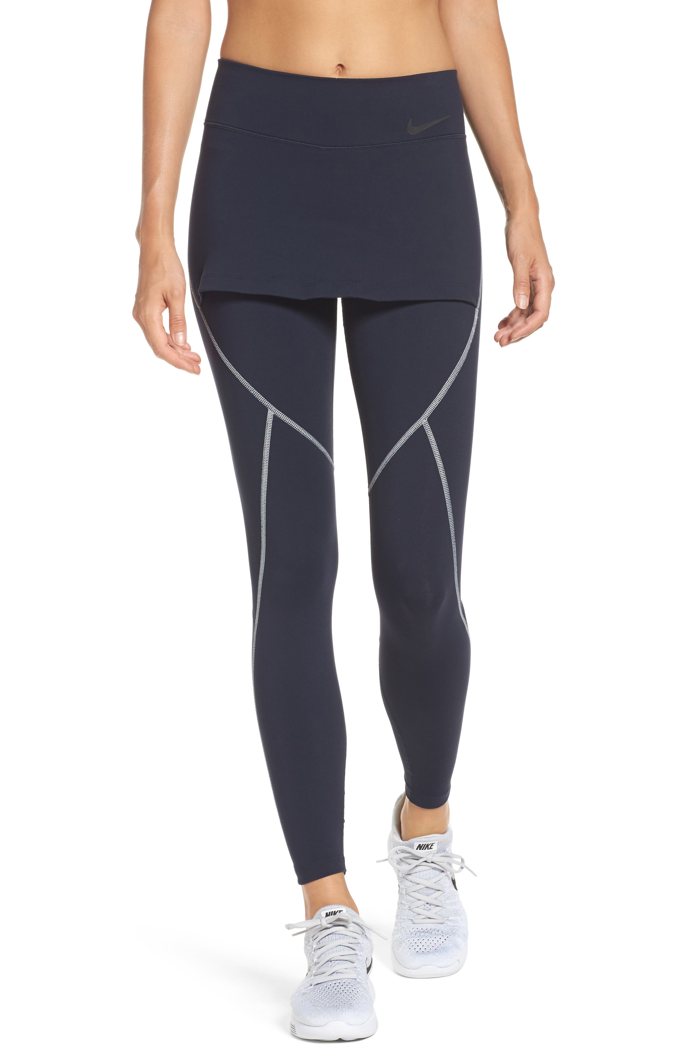 Nordstrom x Nike Energy 2-In-1 Skirted Tights