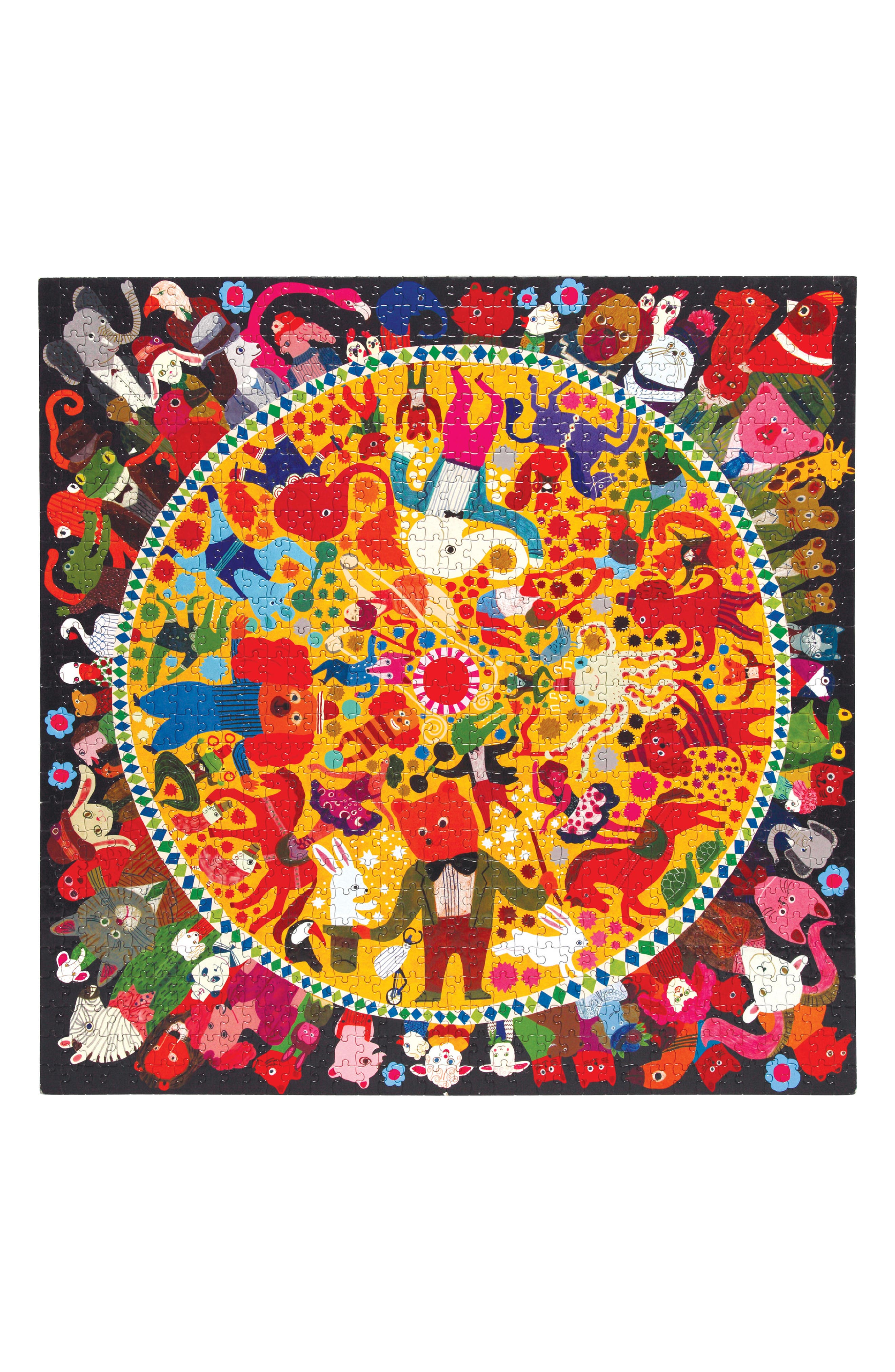 Circus Jigsaw Puzzle,                             Alternate thumbnail 4, color,                             Multi