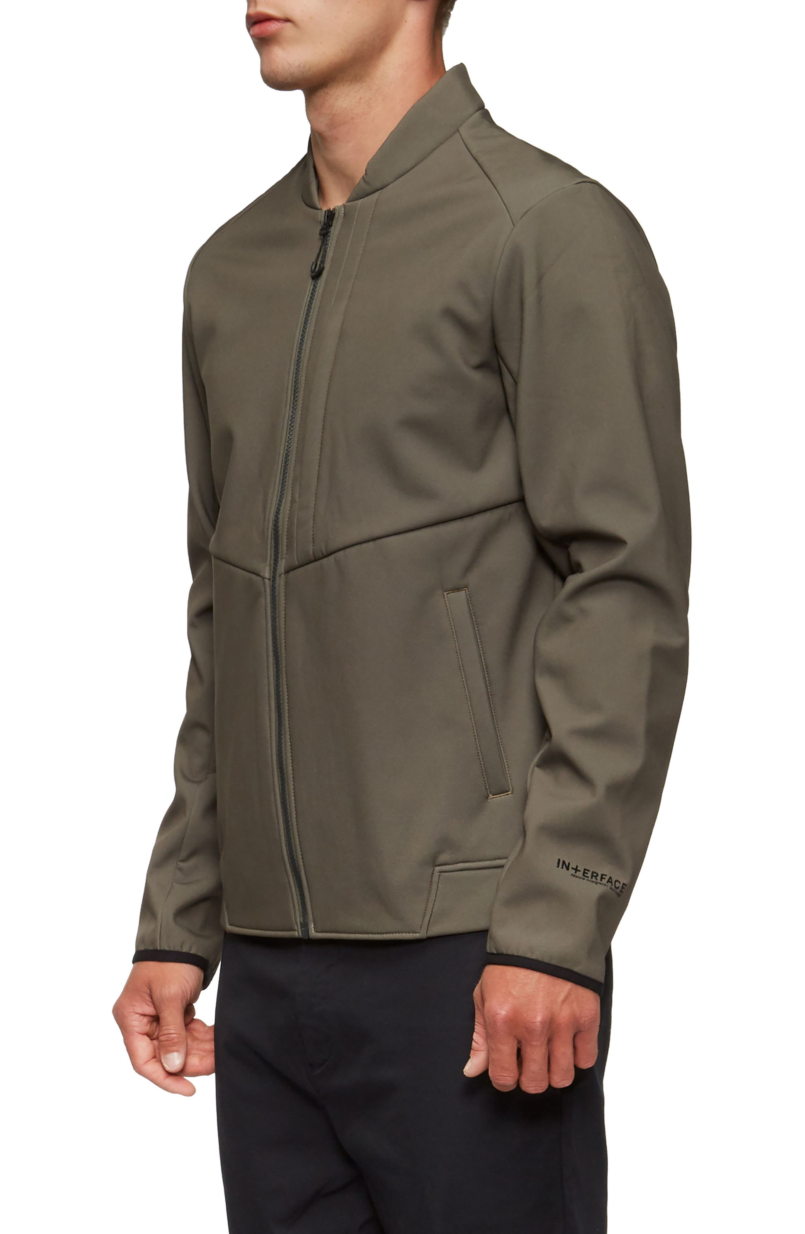 Decoy Fleece Jacket,                             Alternate thumbnail 3, color,                             Olive