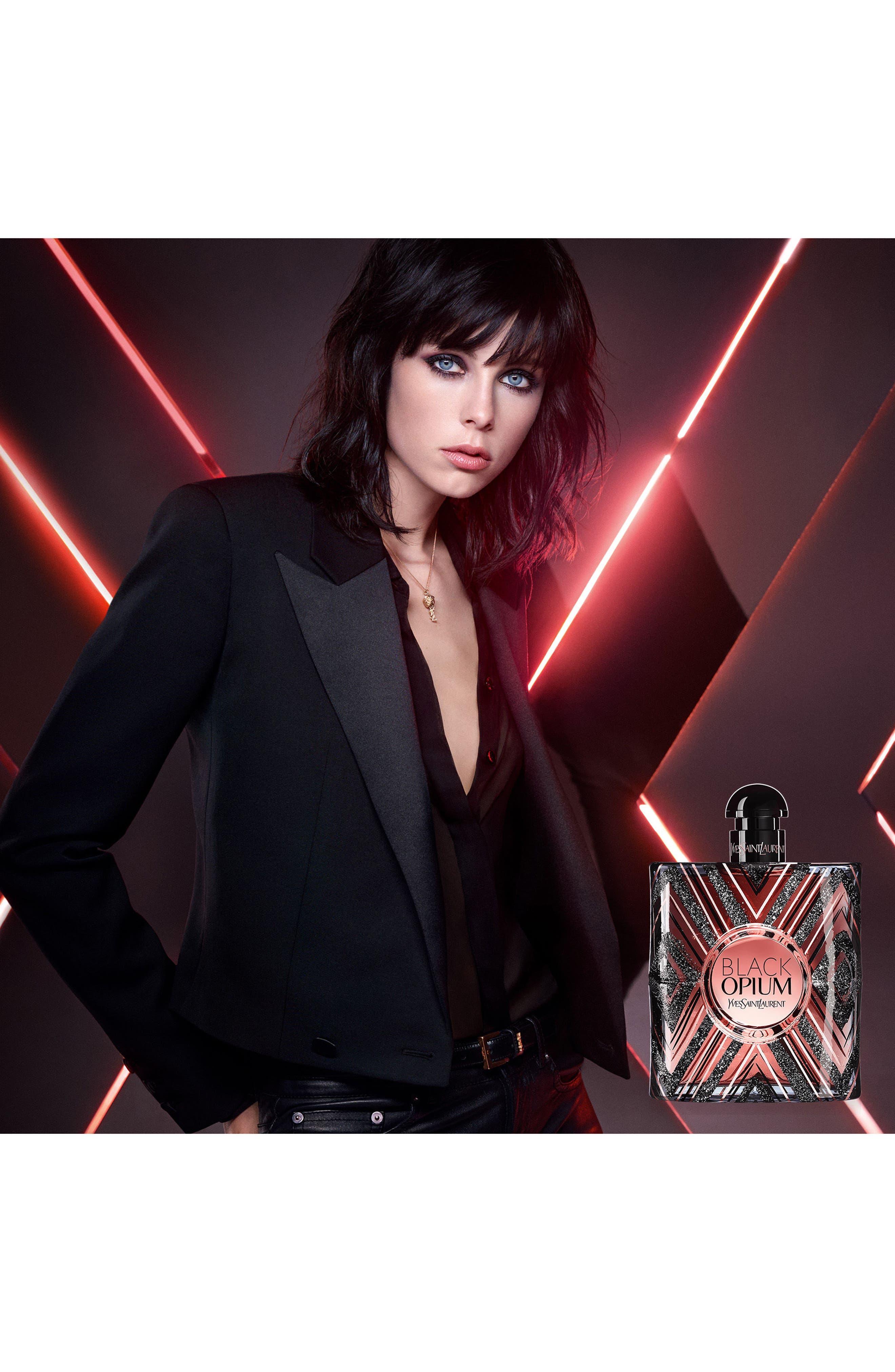 Alternate Image 2  - YVes Saint Laurent Black Opium Pure Illusion Eau de Parfum (Limited Edition)