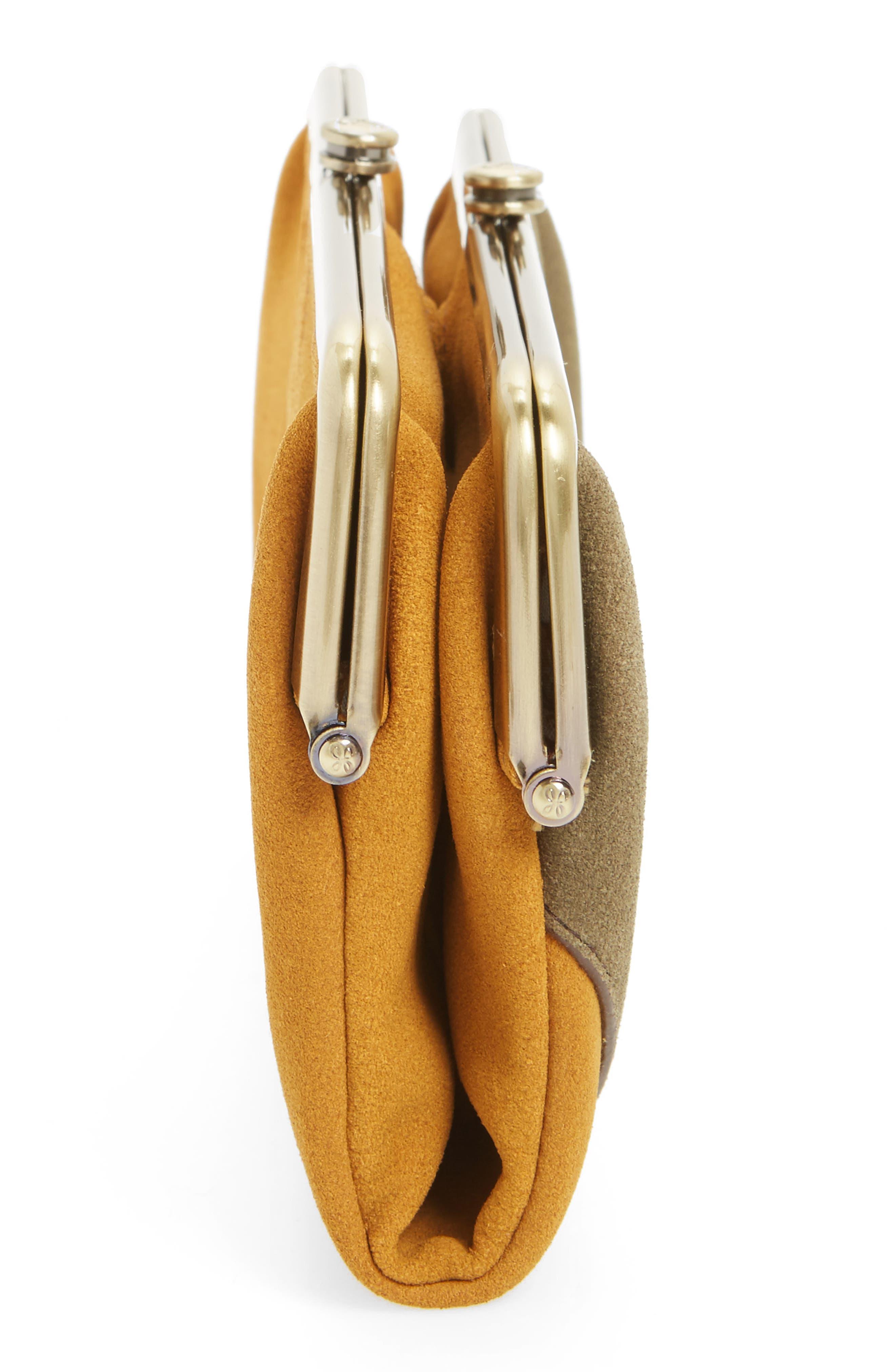 Alternate Image 4  - Hobo Lauren Colorblock Calfskin Leather Wallet
