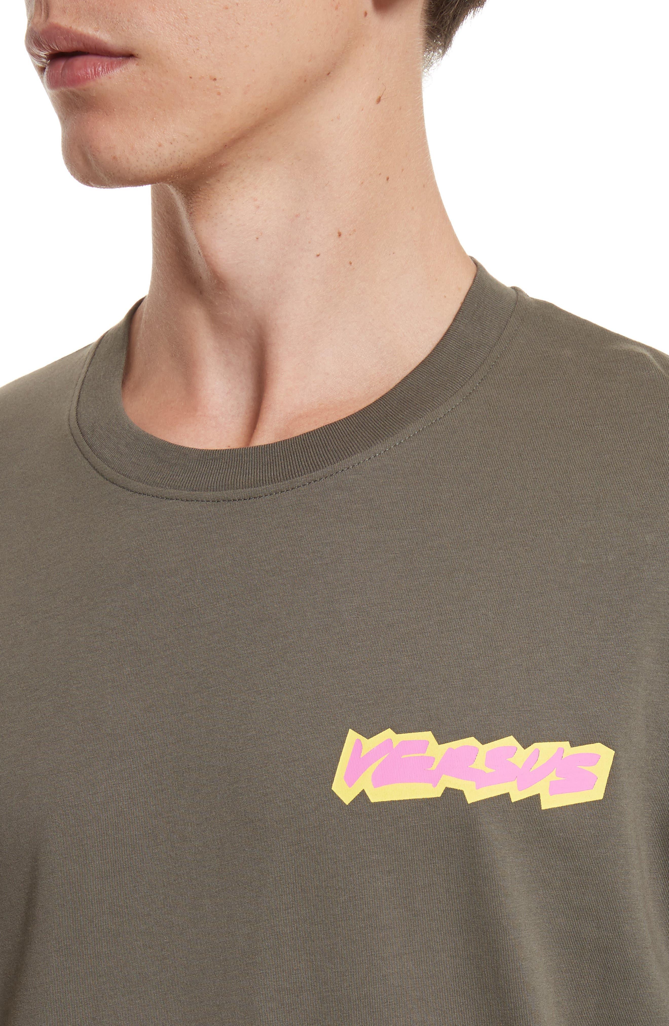 Alternate Image 4  - VERSUS by Versace Logo Graphic T-Shirt
