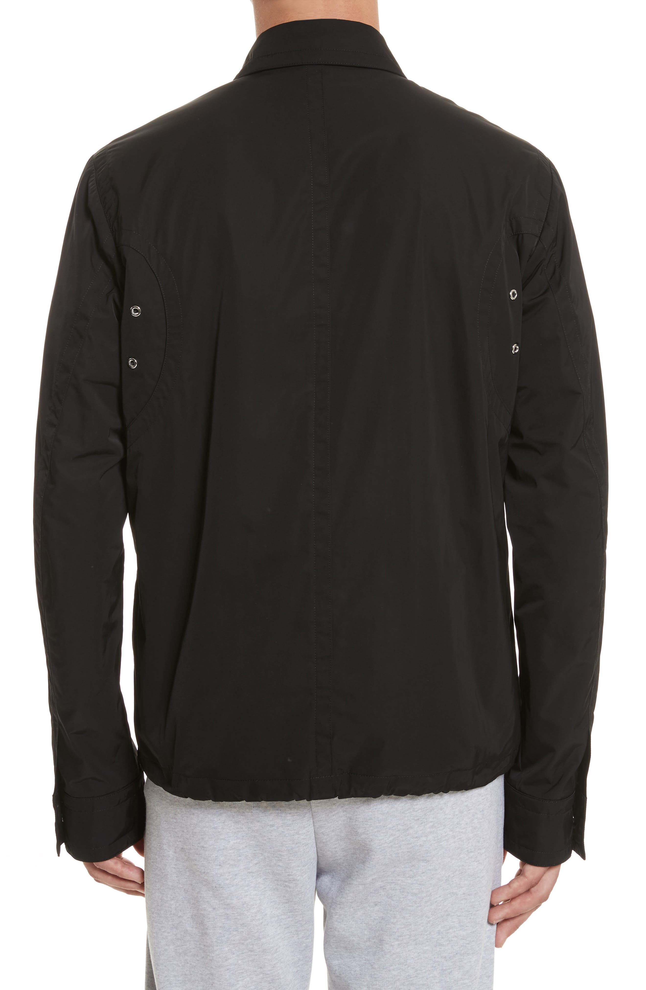 VERSUS by Versace Tech Jacket,                             Alternate thumbnail 2, color,                             Black