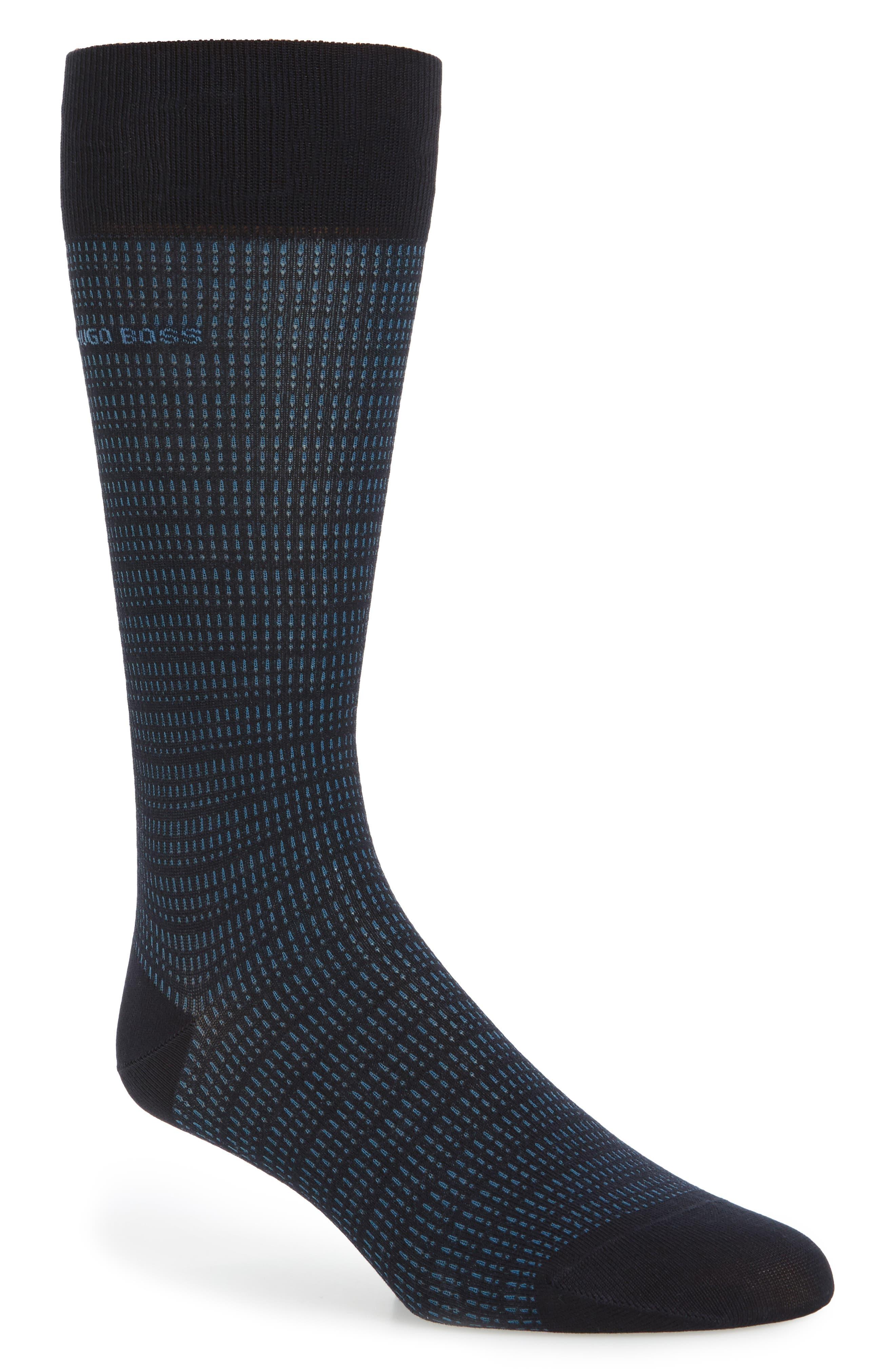Alternate Image 1 Selected - BOSS Mini Pattern Socks