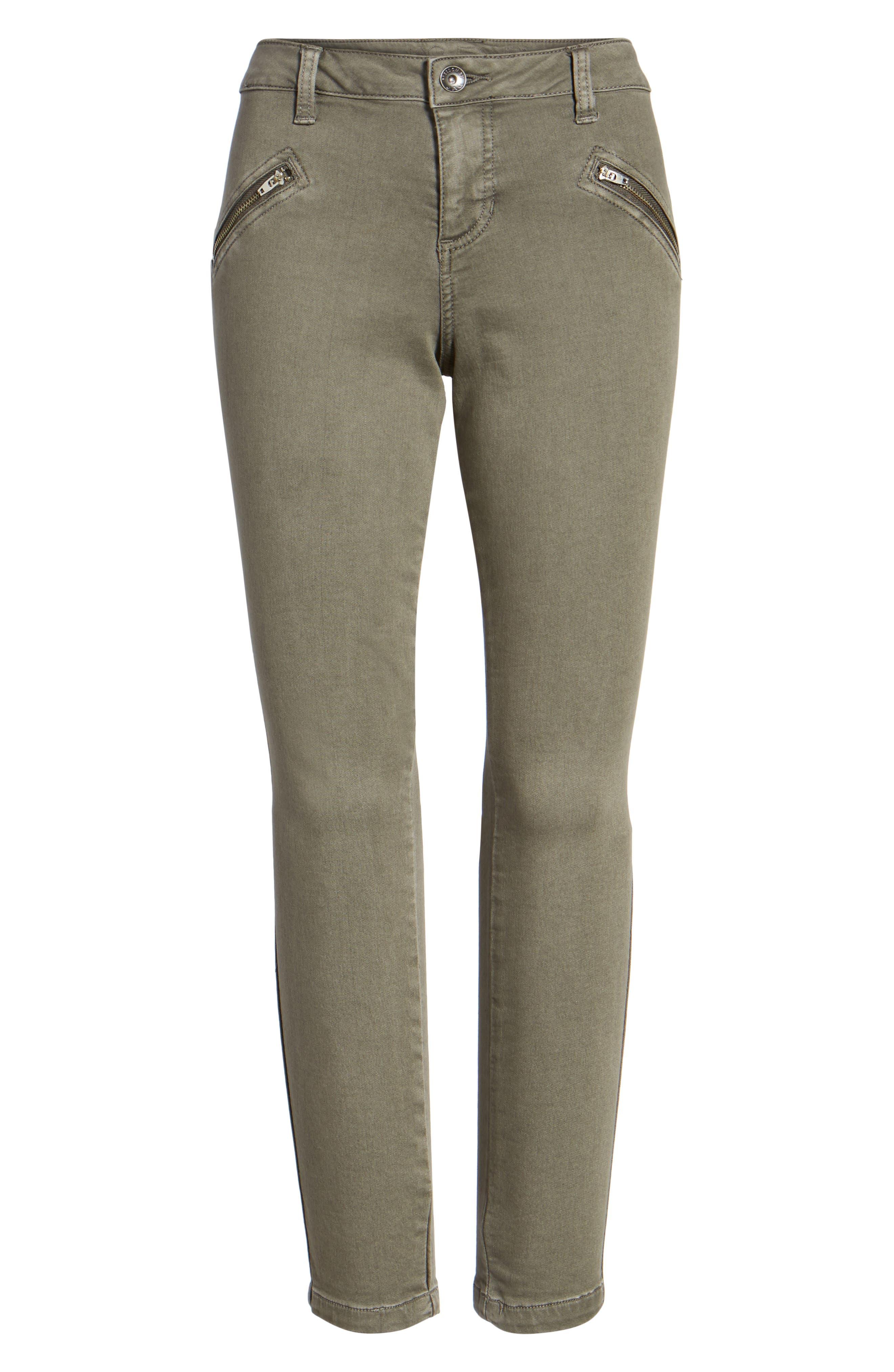 Alternate Image 6  - Jag Jeans Ryan Knit Skinny Jeans (Lava Rock)