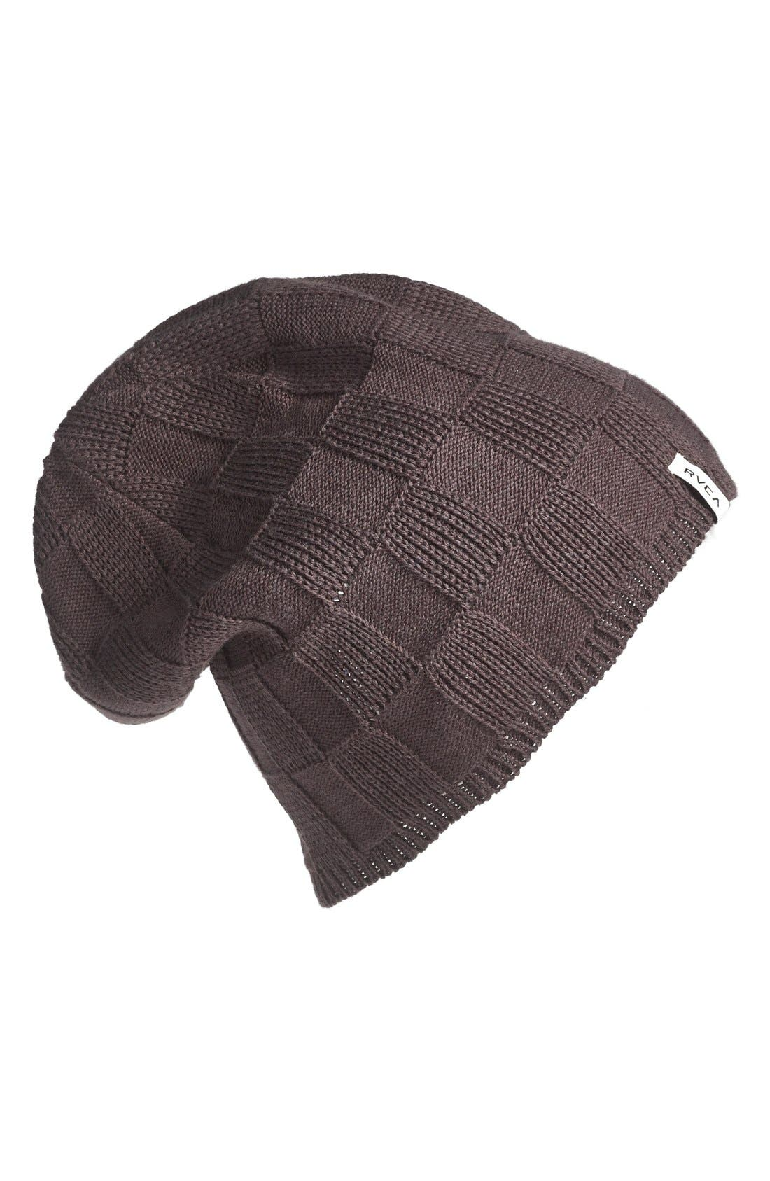Main Image - RVCA 'Checked Out' Beanie
