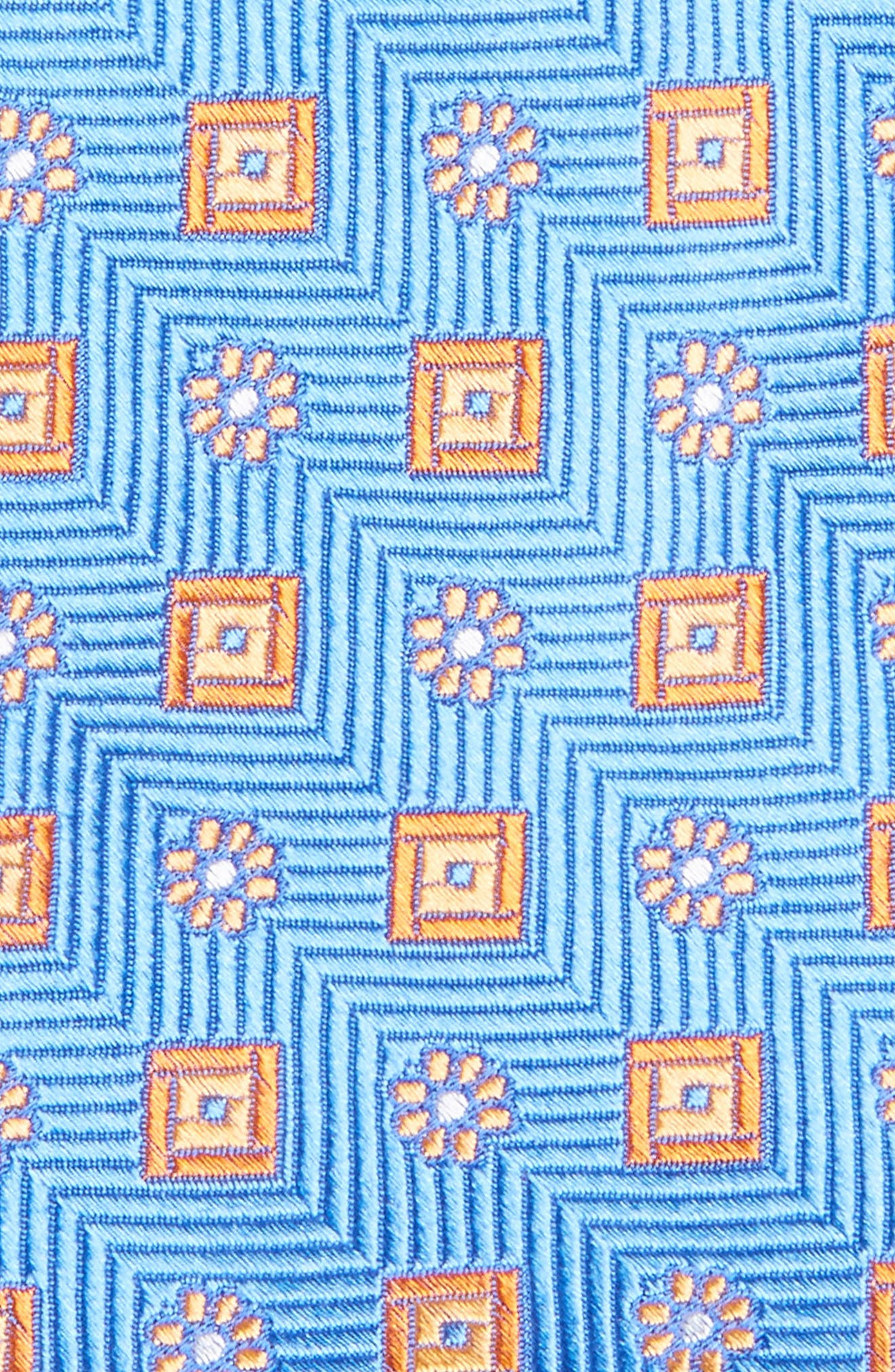 Alternate Image 2  - Nordstrom Men's Shop Medallion Silk Tie (X-Long)