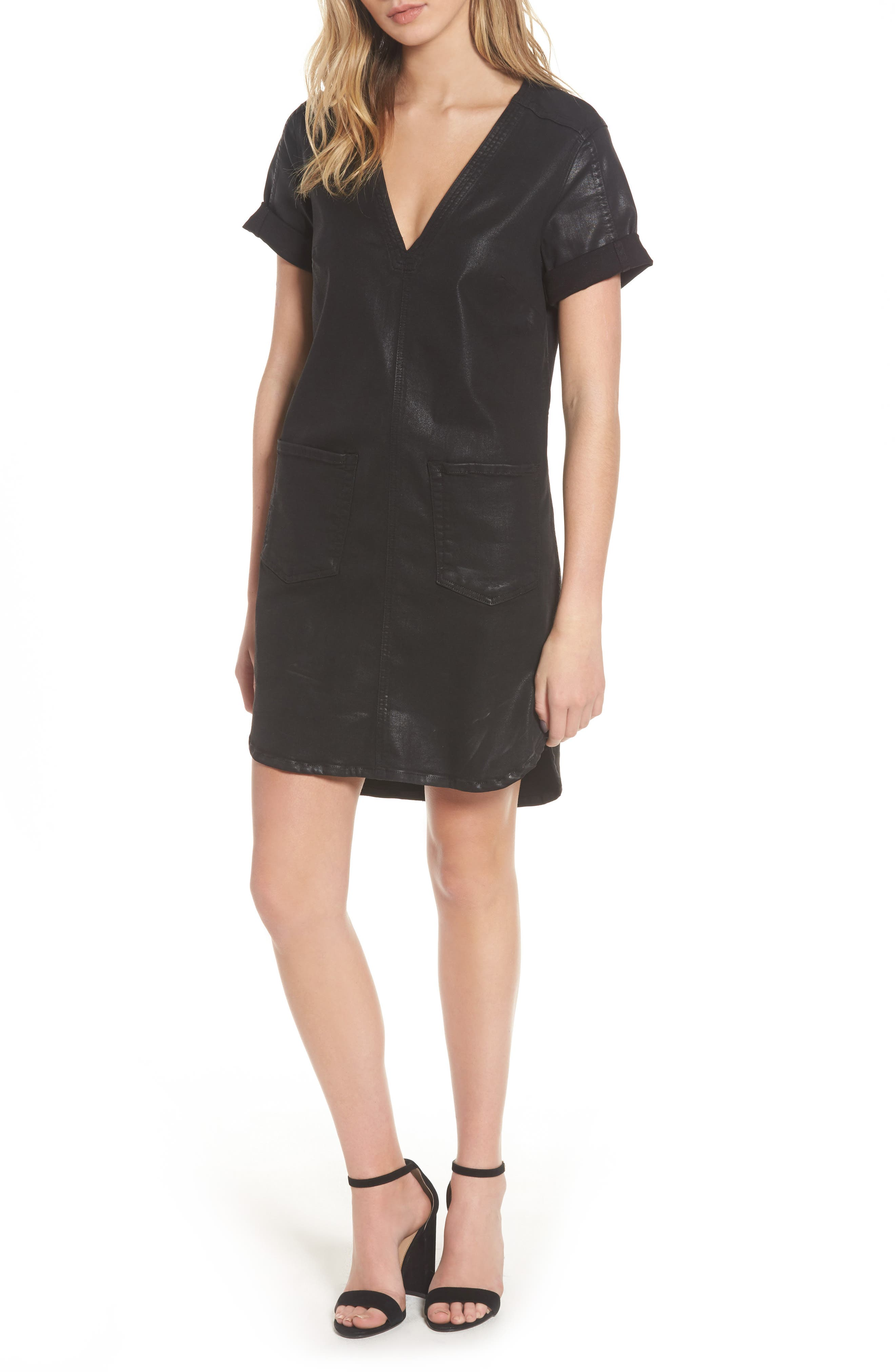 Main Image - 7 For All Mankind® Coated Shift Dress