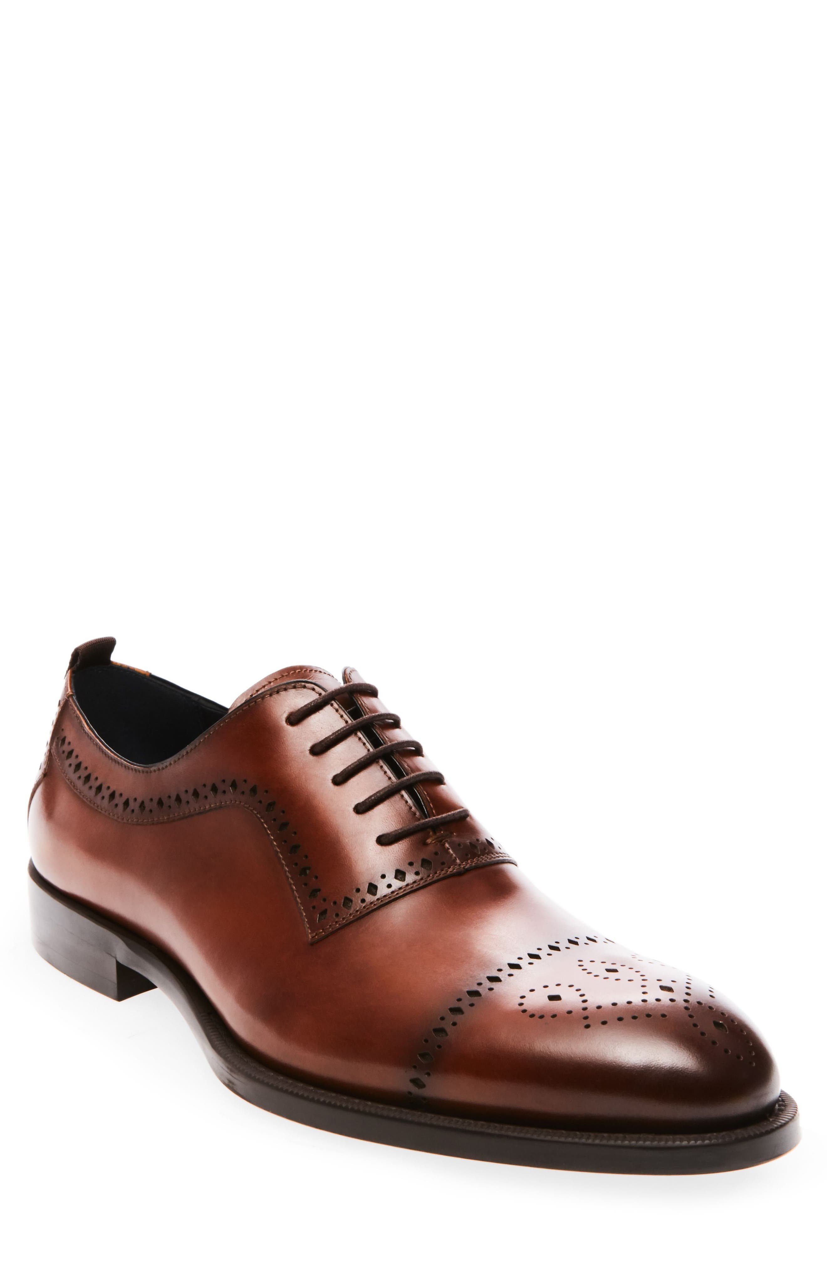 Steve Madden Cerra Medallion Toe Oxford (Men)