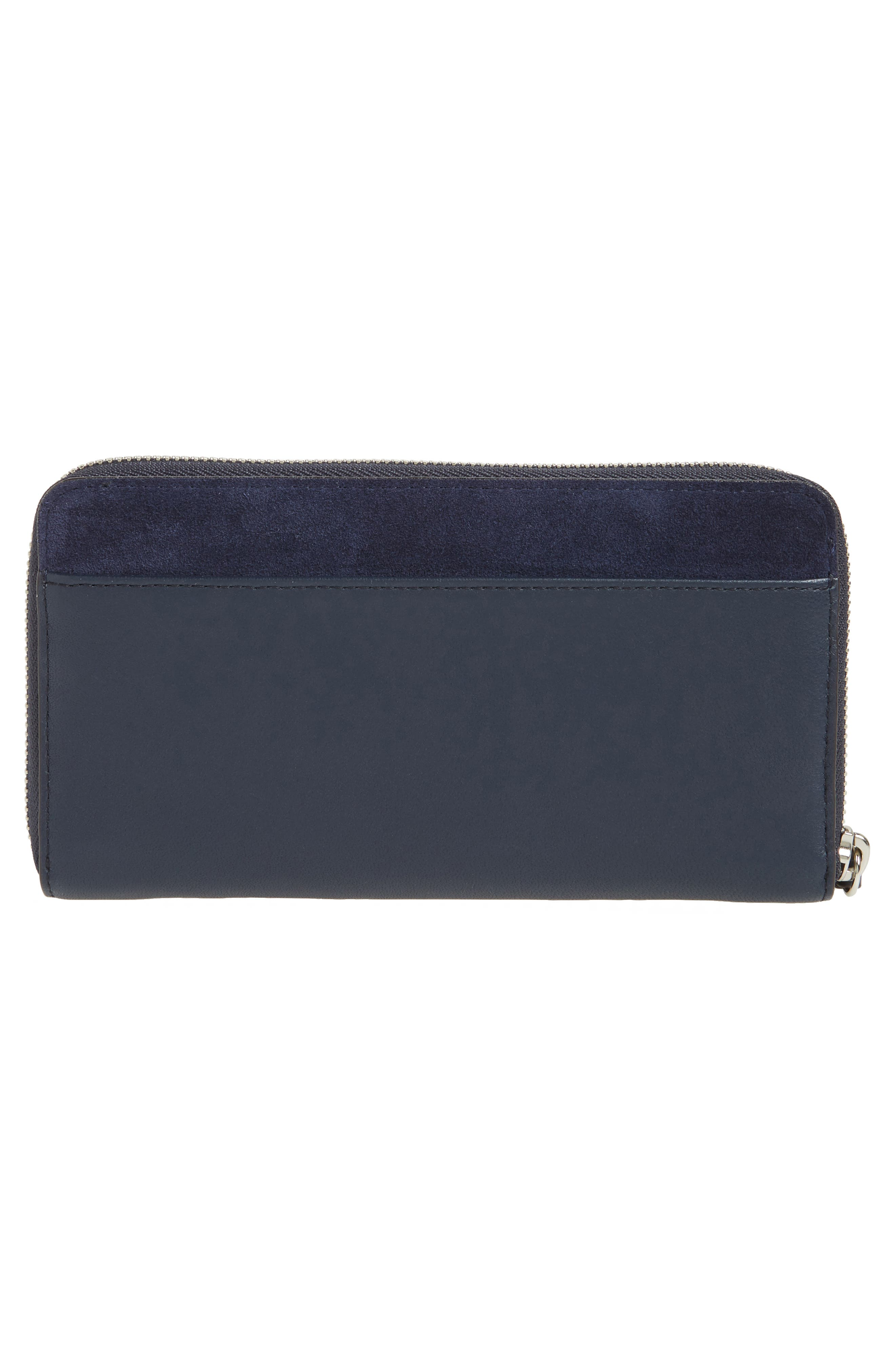 Alternate Image 3  - ALLSAINTS Ray Whip Leather & Suede Wallet