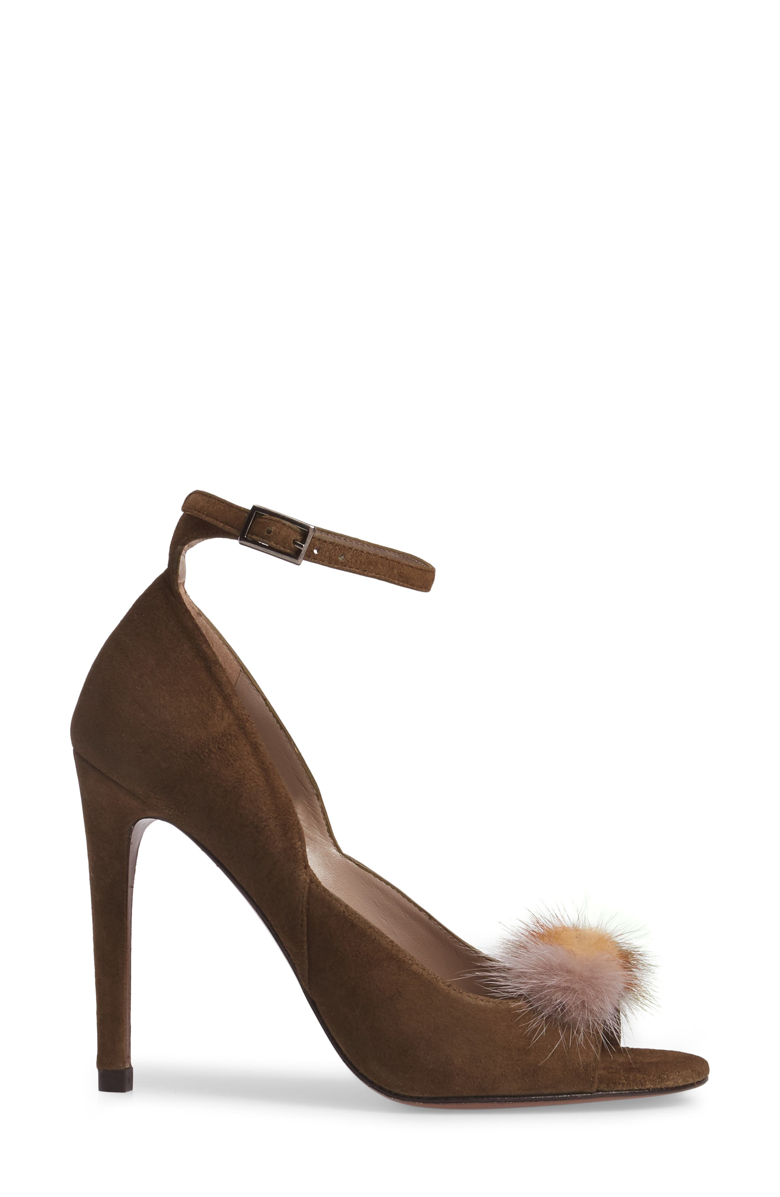 Alternate Image 3  - Donald J Pliner Genuine Mink Fur Pump (Women)