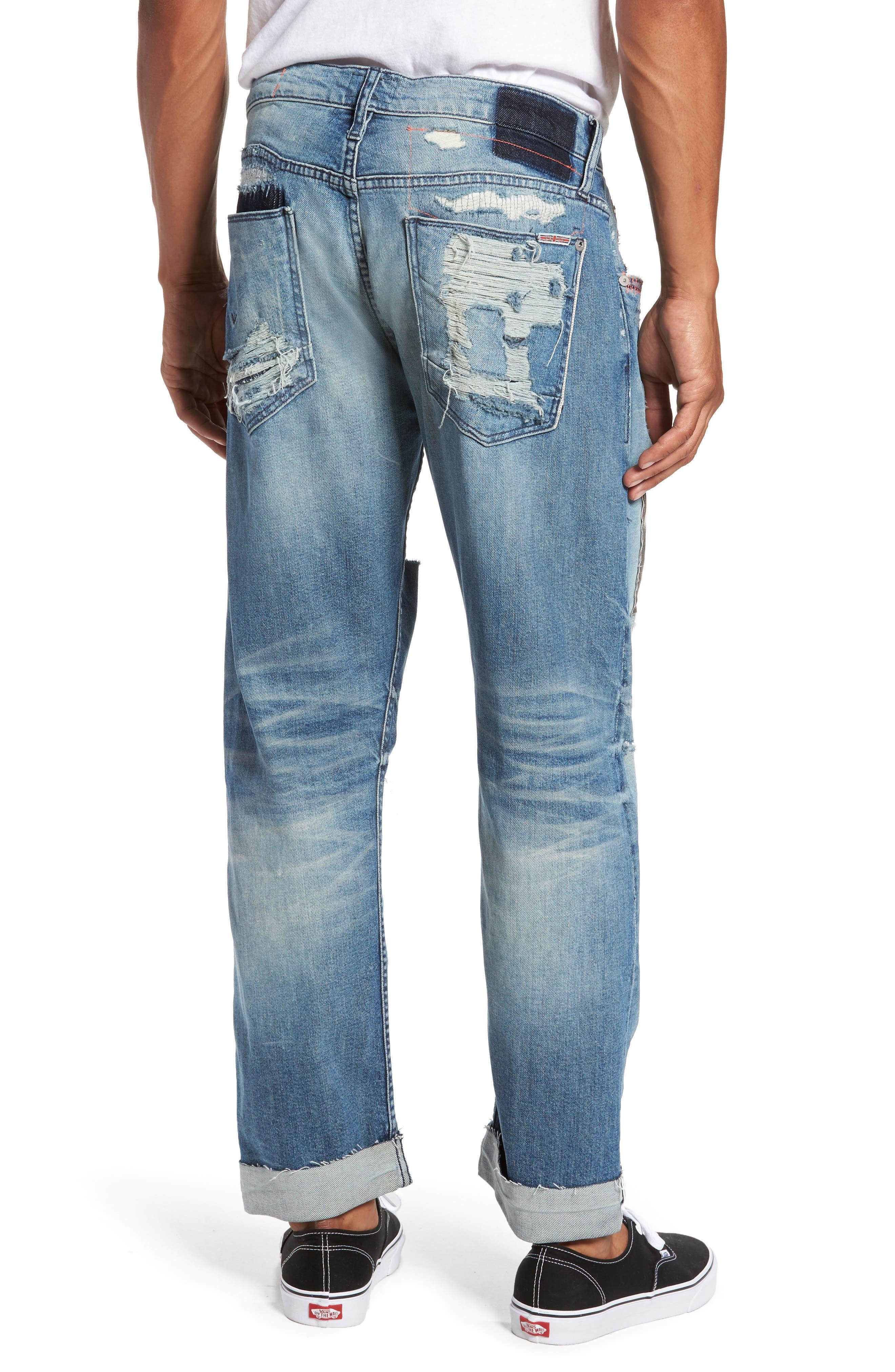 Blake Slim Fit Jeans,                             Alternate thumbnail 2, color,                             Public Enemy