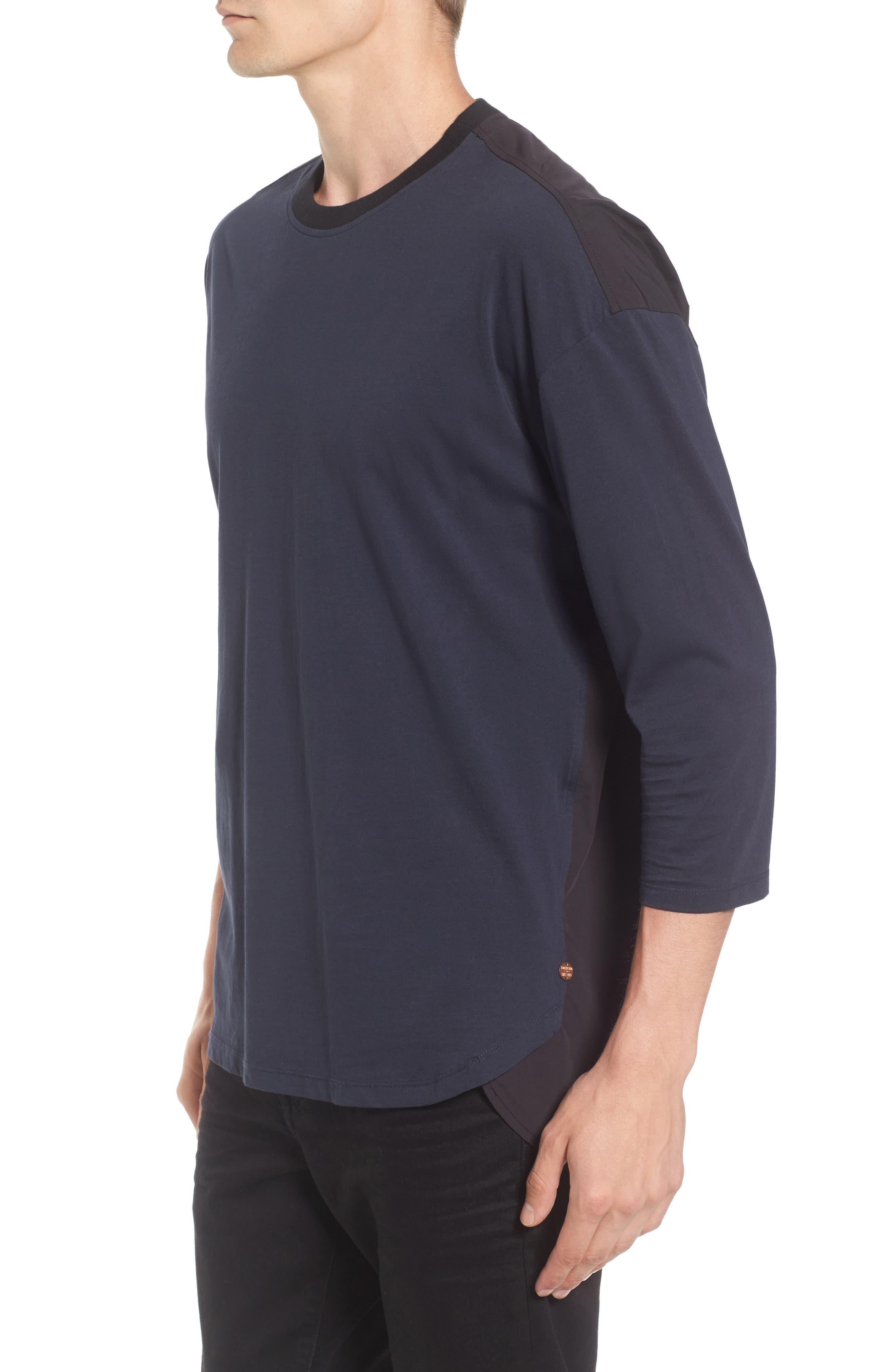 Alternate Image 3  - Scotch & Soda Two-Tone T-Shirt