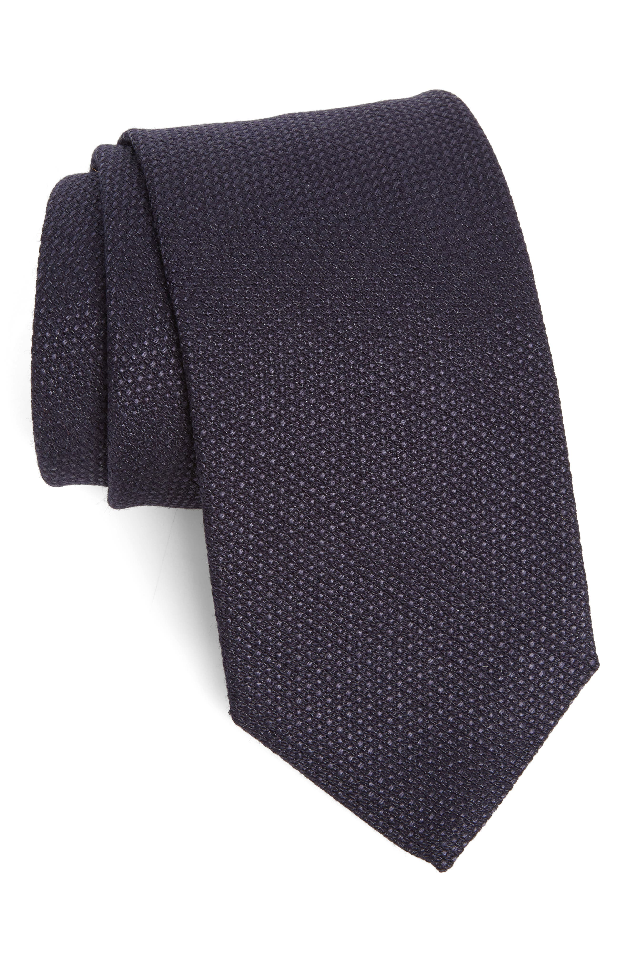 Strong Suit Solid Silk Tie