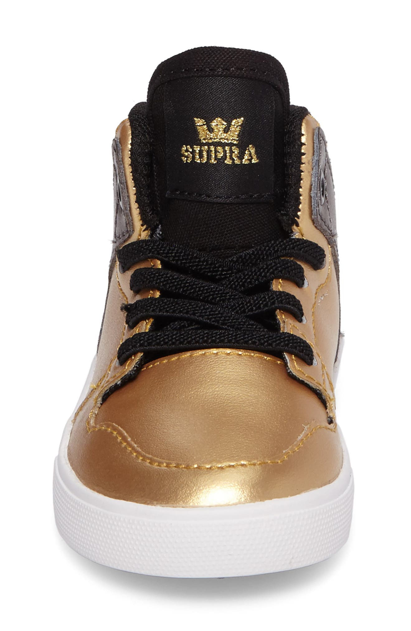 Vaider High Top Sneaker,                             Alternate thumbnail 2, color,                             Gold