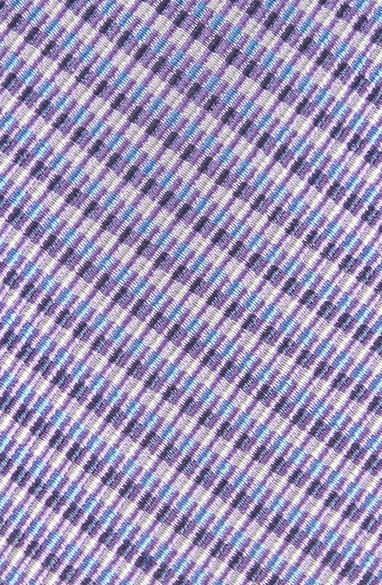 Alternate Image 2  - Nordstrom Men's Shop Stripe Silk Tie