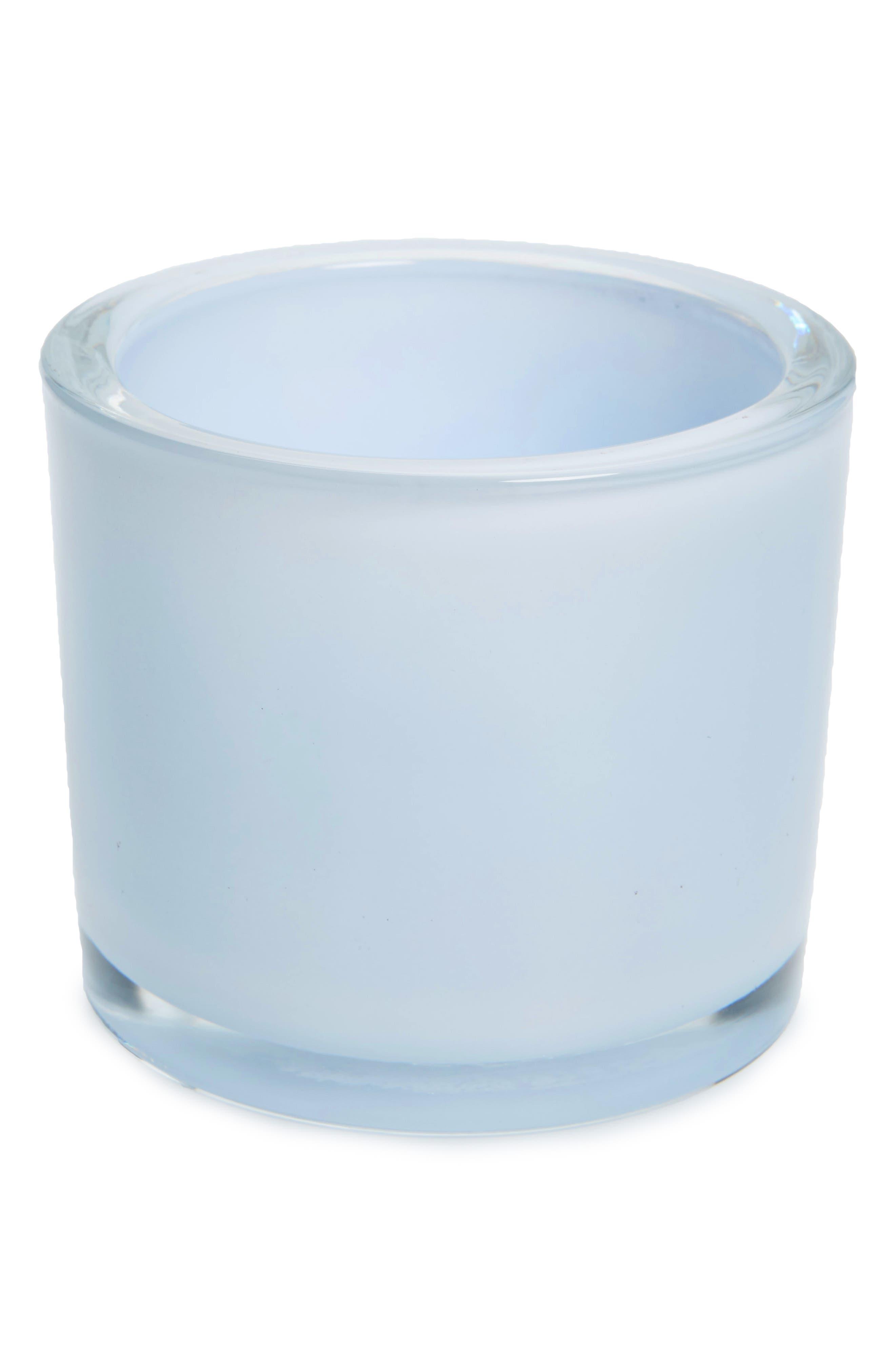Design Imports Blue Glass Votive Holder