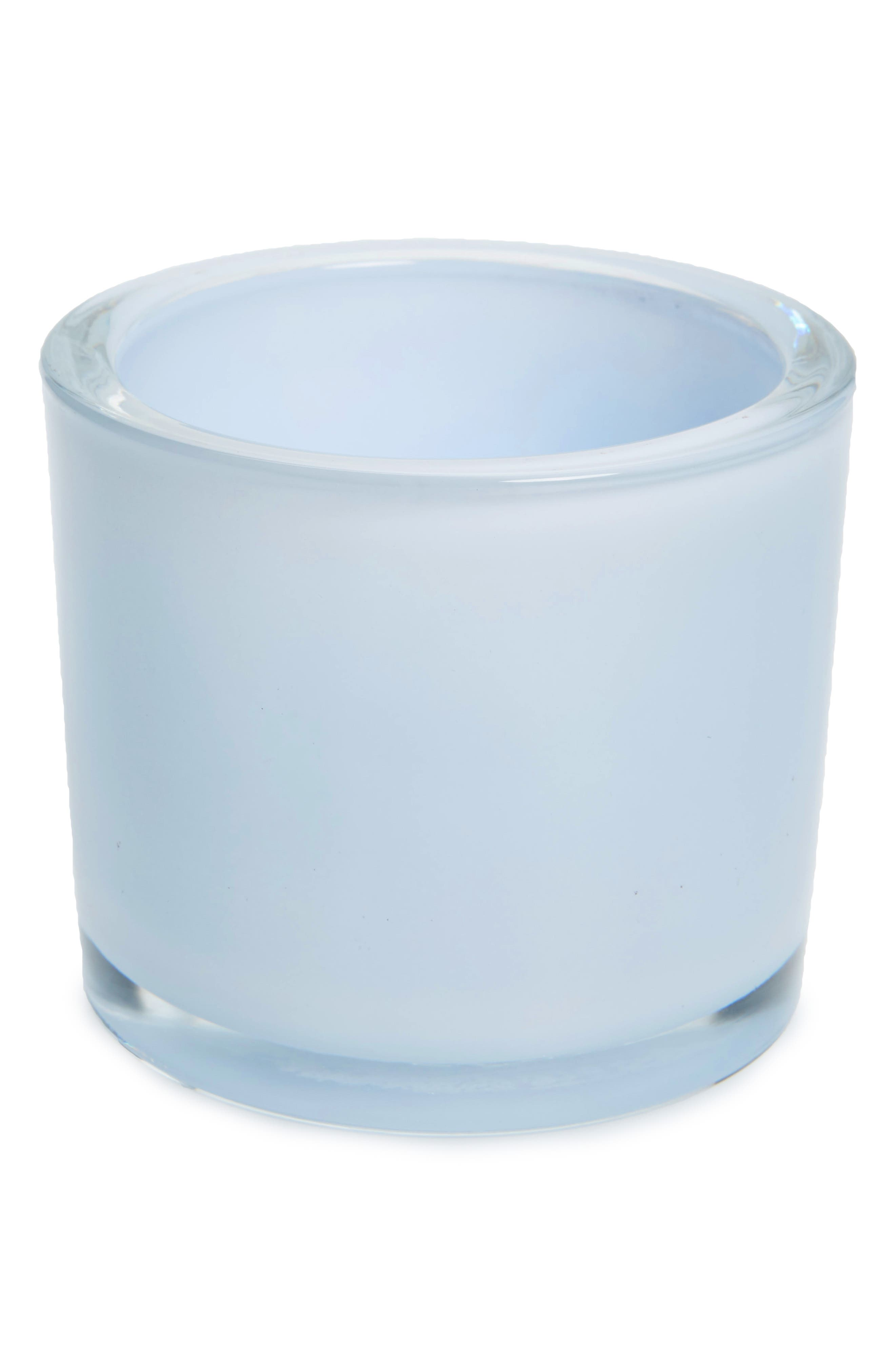 Design Imports Blue Glass Votive Holder