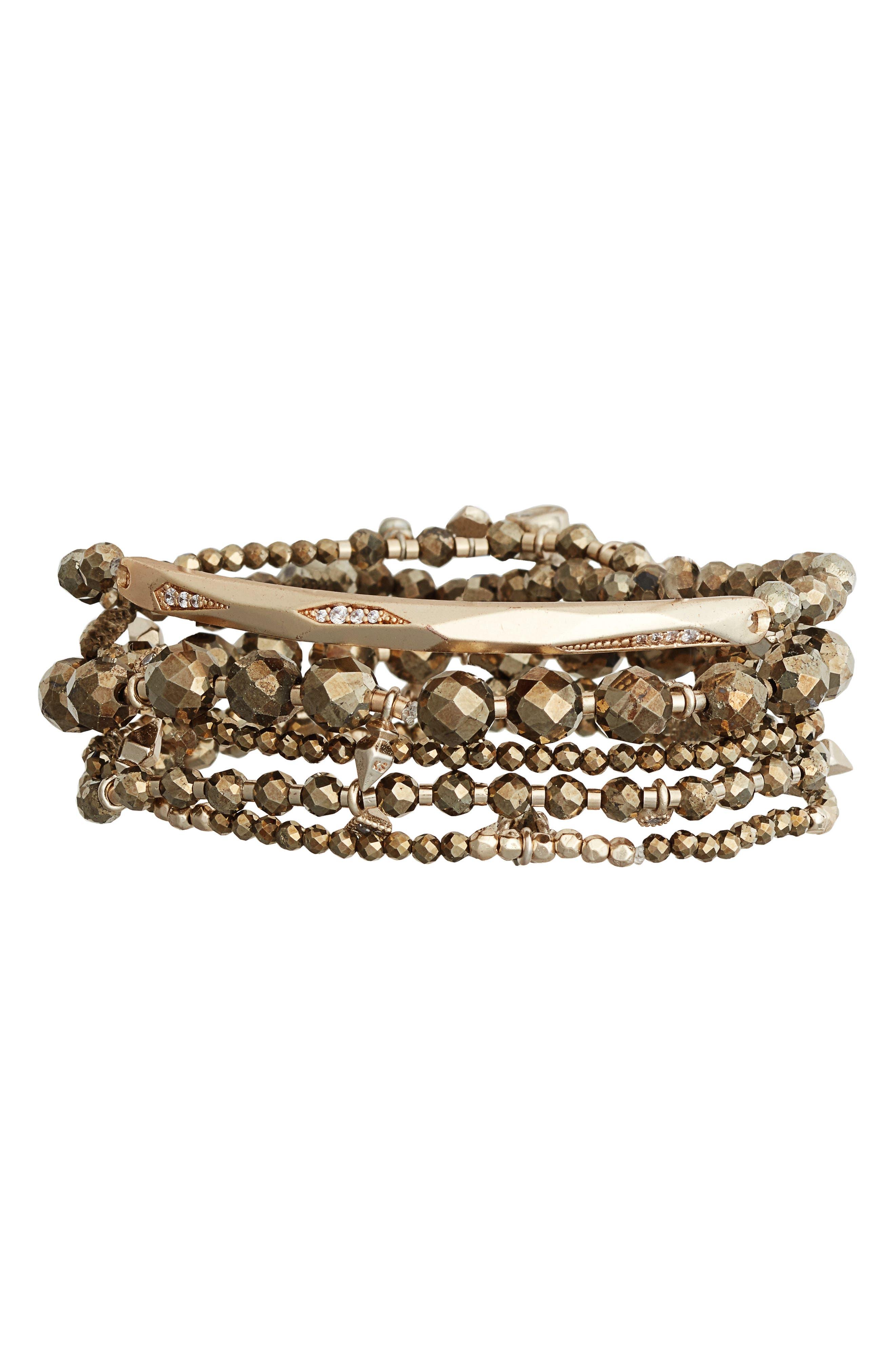 Kendra Scott Supak Set of 5 Bracelets