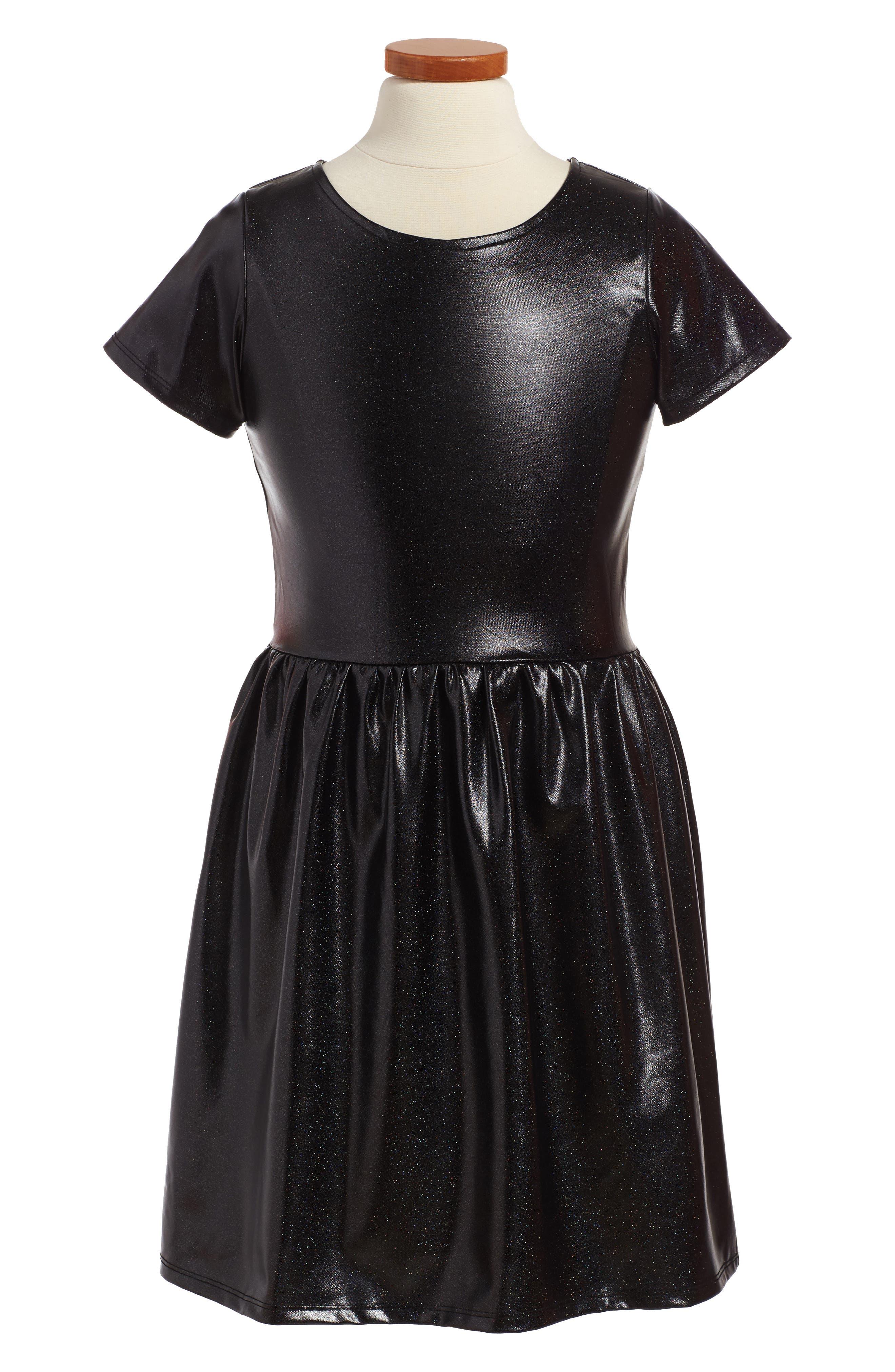 Kelsey Dress,                         Main,                         color, Black Prism