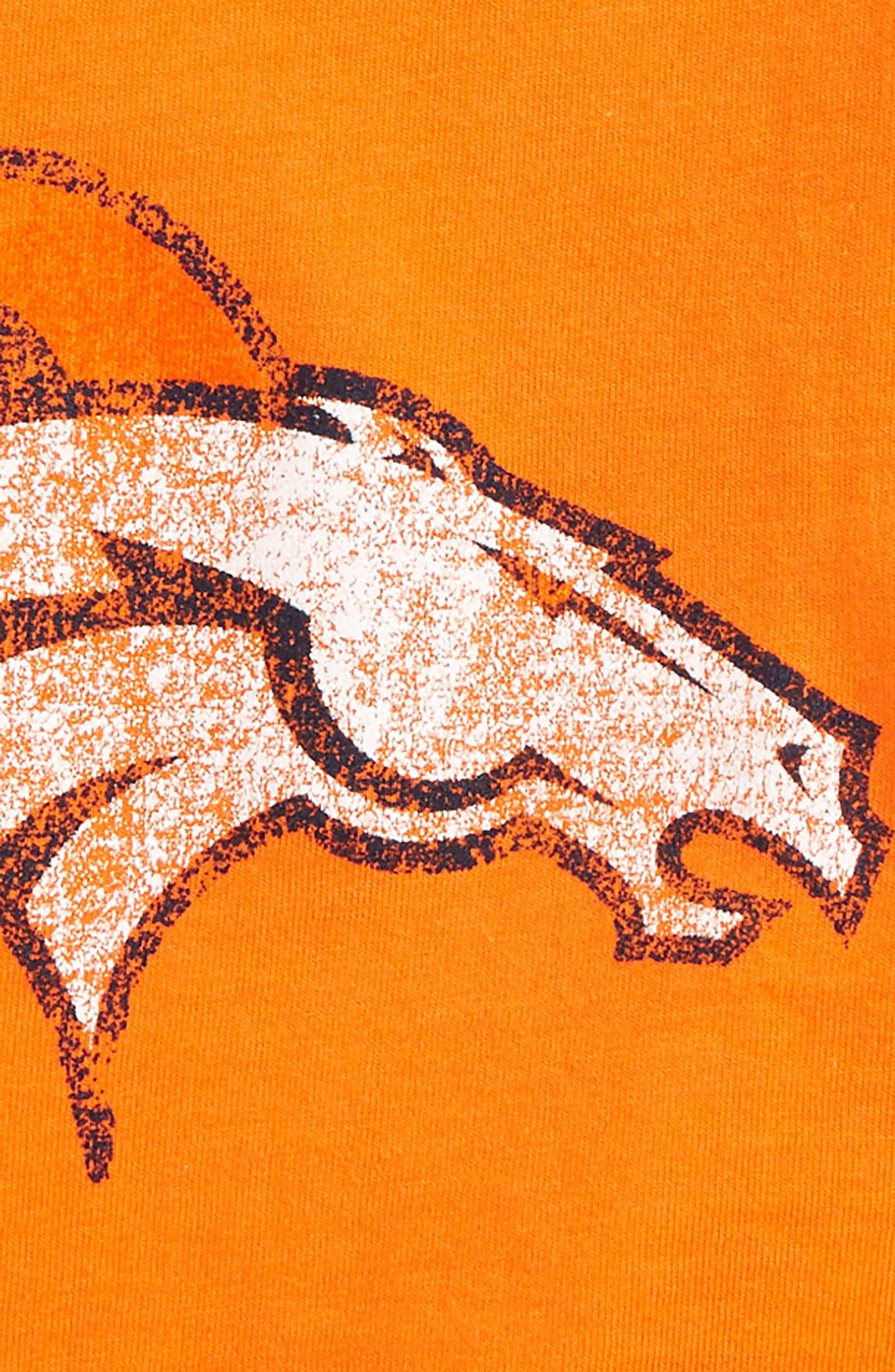 NFL Denver Broncos Distressed Logo Graphic T-Shirt,                             Alternate thumbnail 2, color,                             Broncos