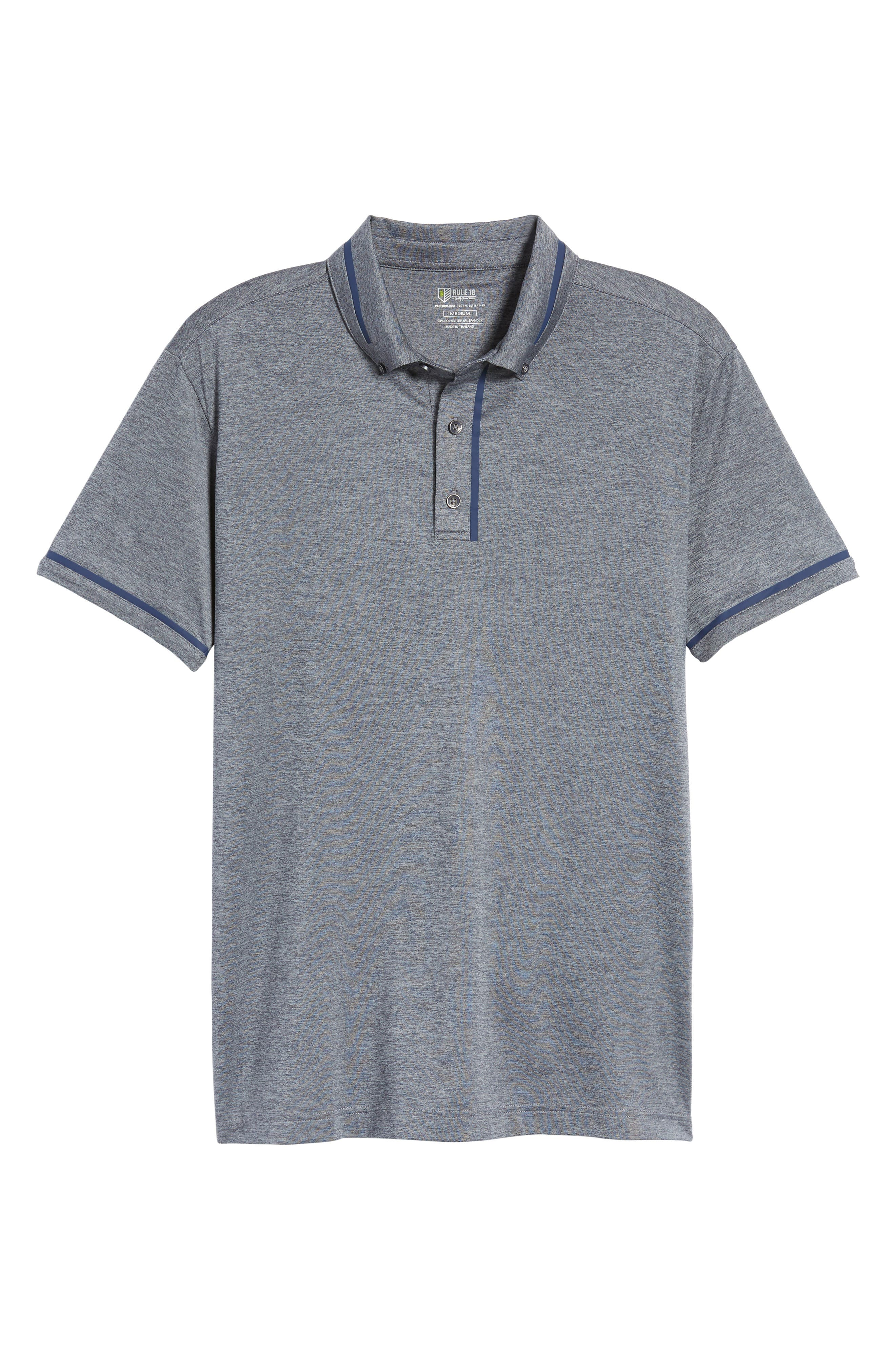 Alternate Image 5  - Bobby Jones R18 Tech Chapman Welded Trim Polo