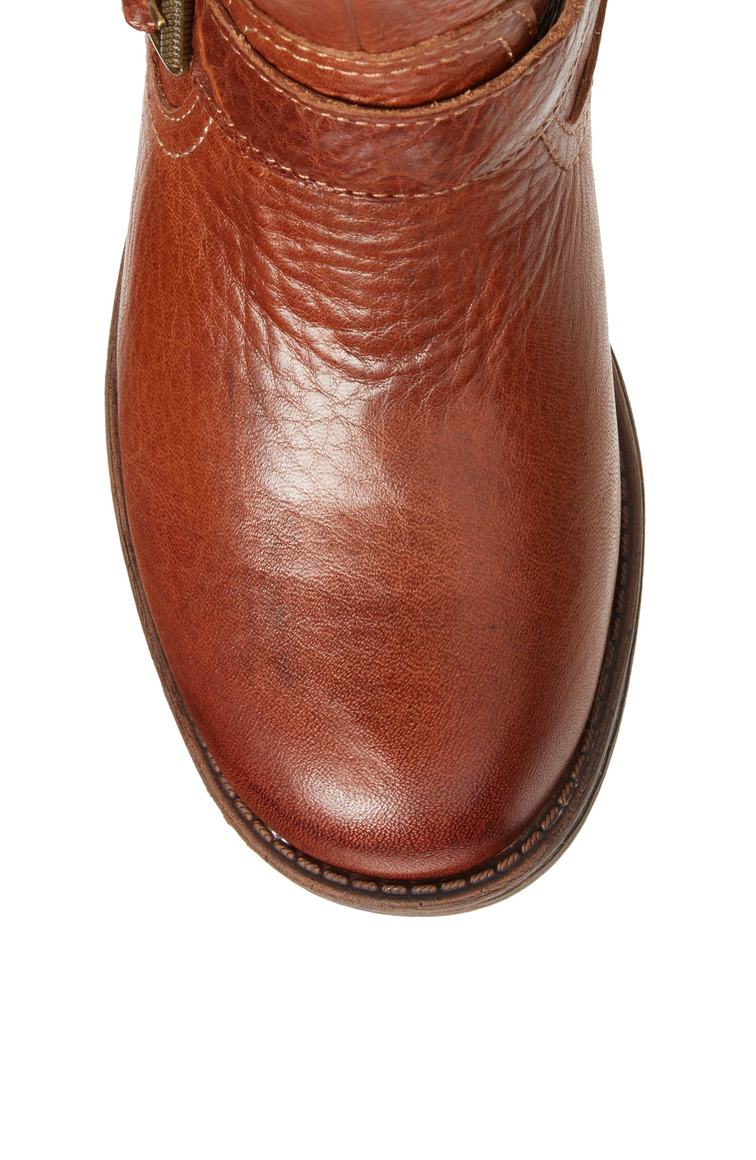 Sedalia Tall Boot,                             Alternate thumbnail 5, color,                             Whiskey Leather