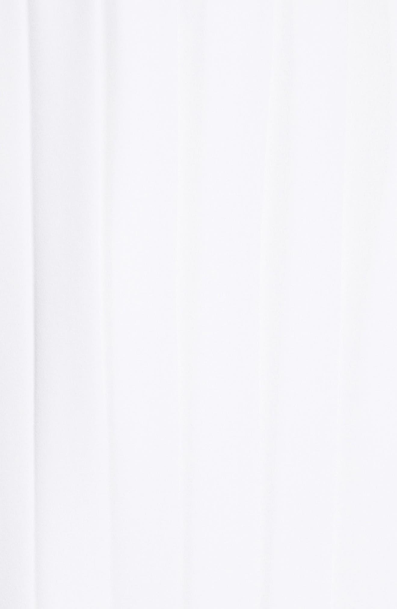 Dakota Tack Sleeve Top,                             Alternate thumbnail 5, color,                             White/ Multi