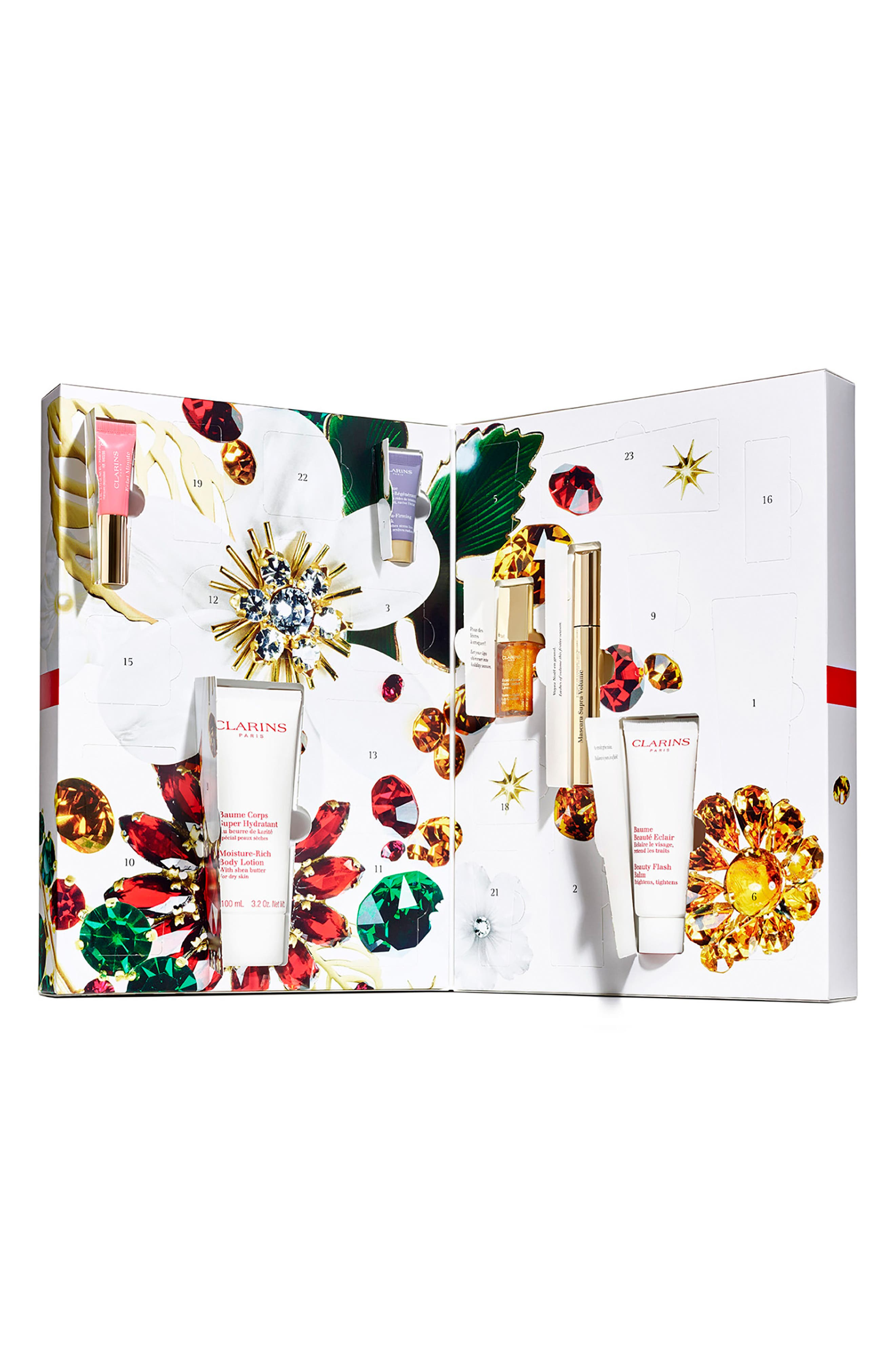 Alternate Image 3  - Clarins Advent Calendar Collection (Over $218 Value)