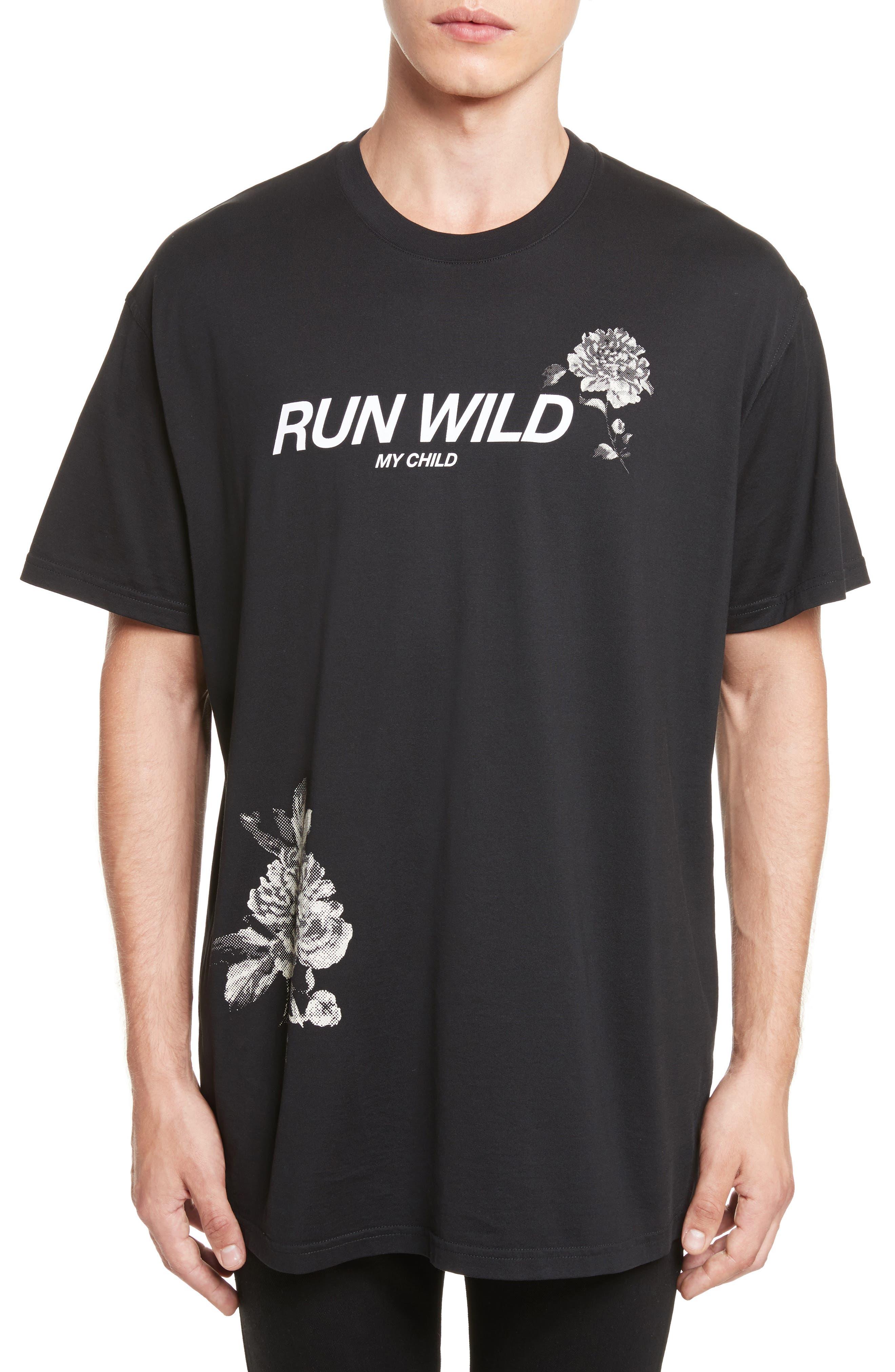 Givenchy Run Wild Graphic T-Shirt