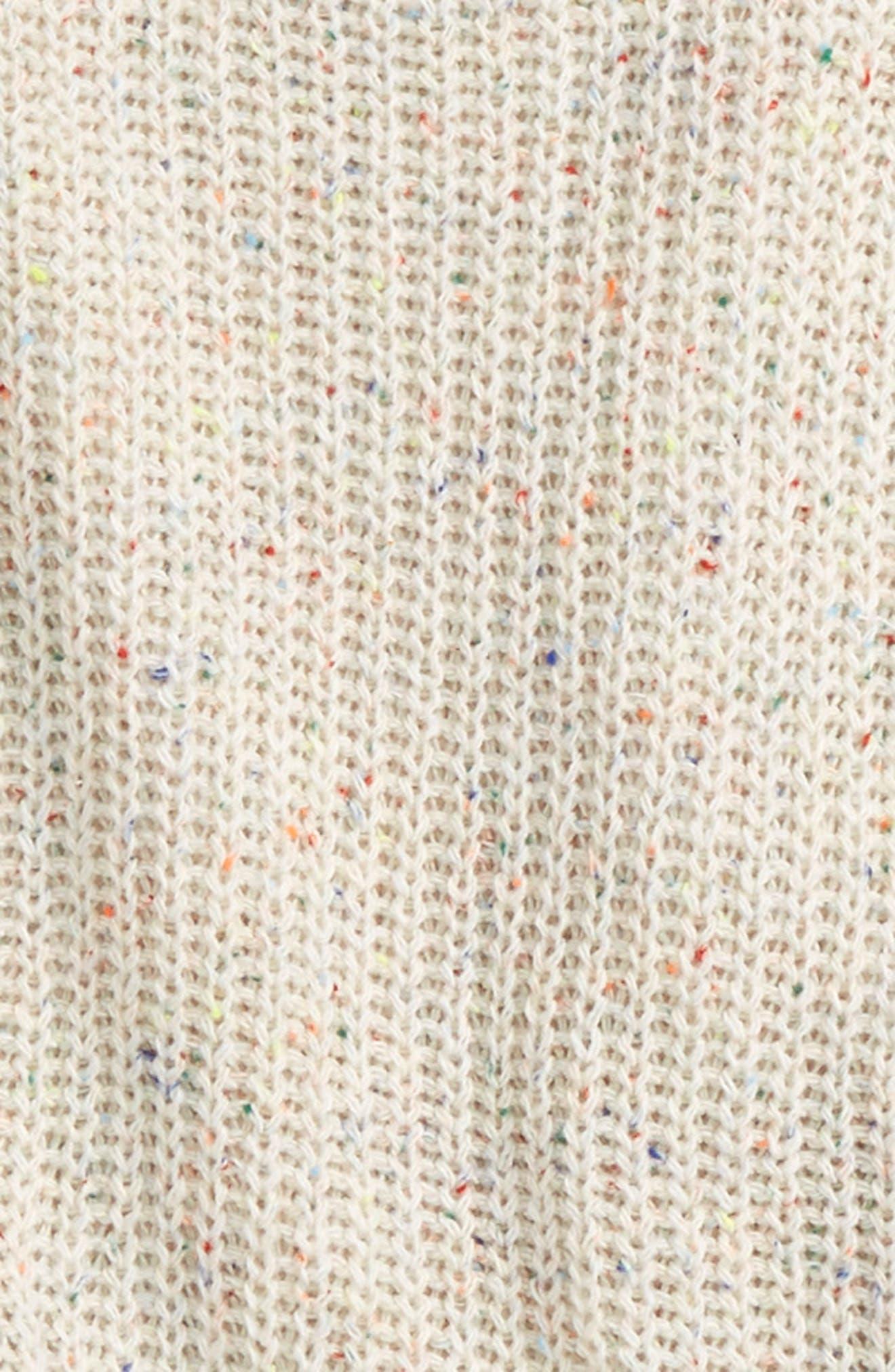 Cold Shoulder Sweater,                             Alternate thumbnail 2, color,                             Multi