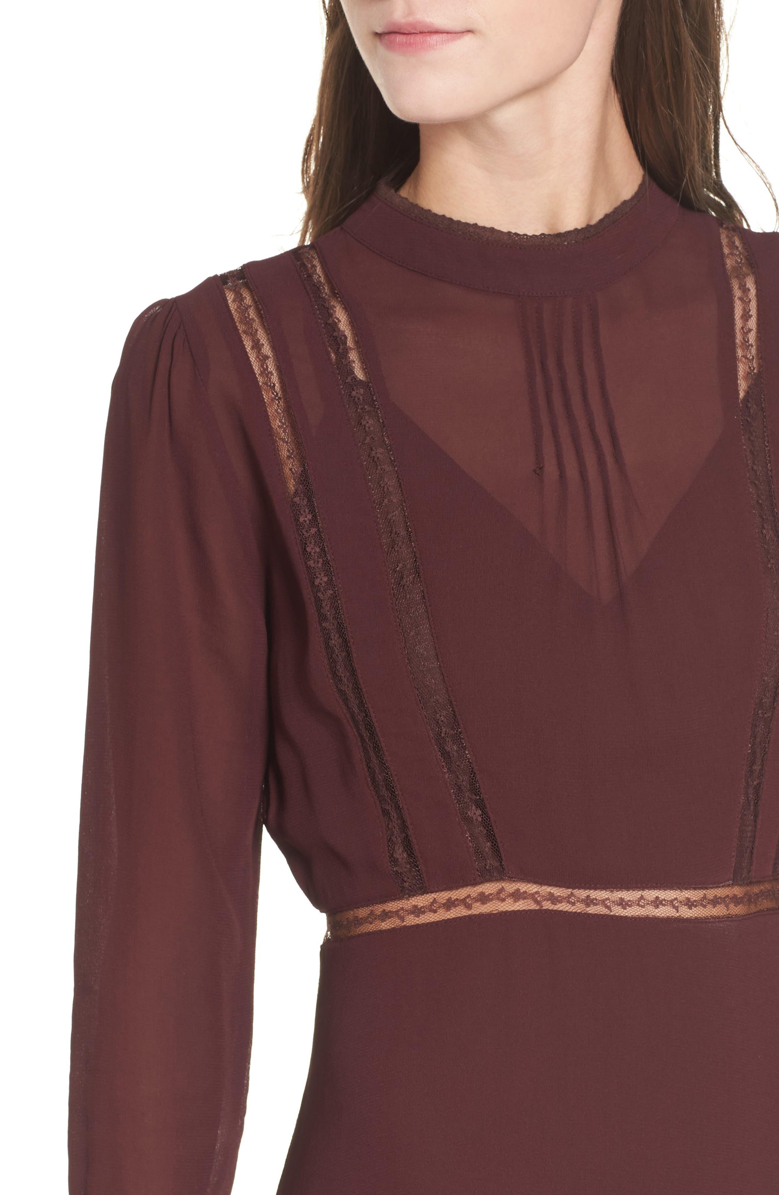 Alternate Image 4  - ASTR the Label Kirsten A-Line Dress